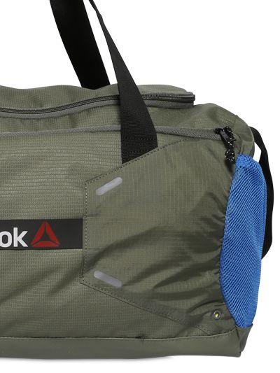 4f51d48a07 Lyst - Reebok 48 L Nylon Ripstop Duffel Gym Bag in Green for Men