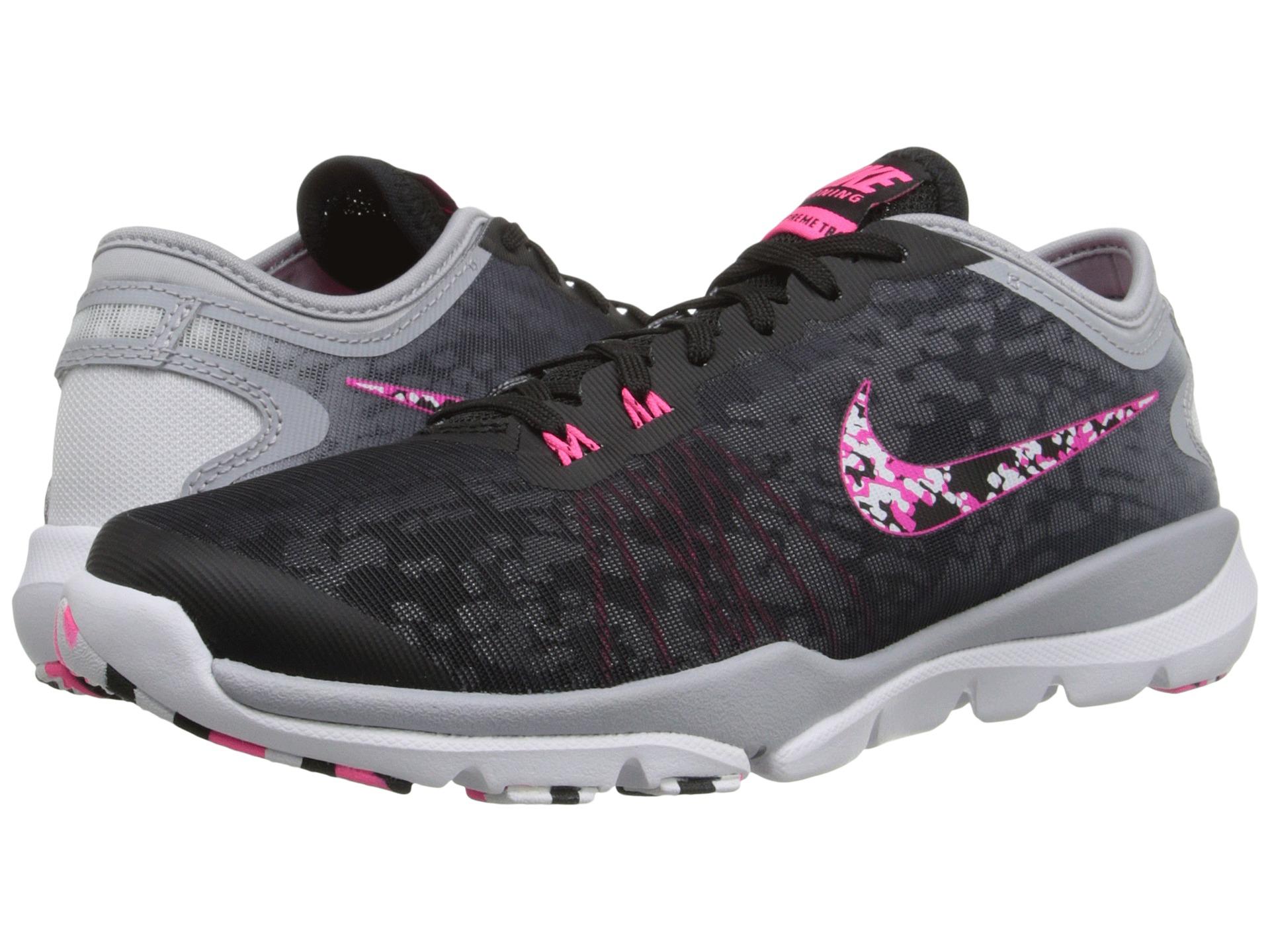 8c5a7bfc700b4 Lyst - Nike Flex Supreme Tr 4 Pr in Black