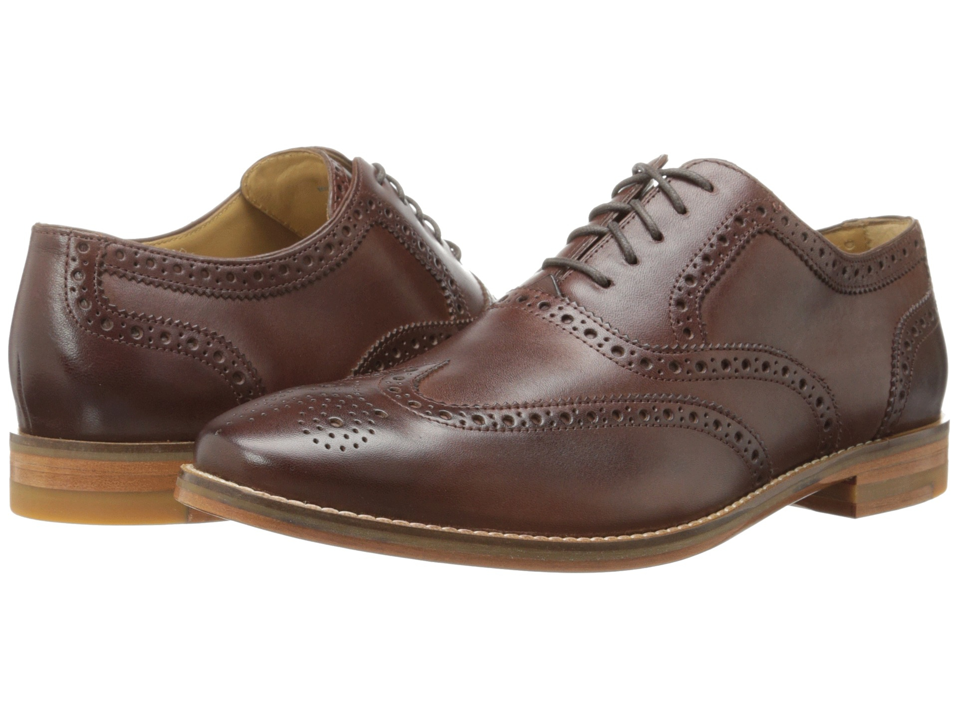 Lyst Cole Haan Cambridge Wing Oxford In Brown For Men
