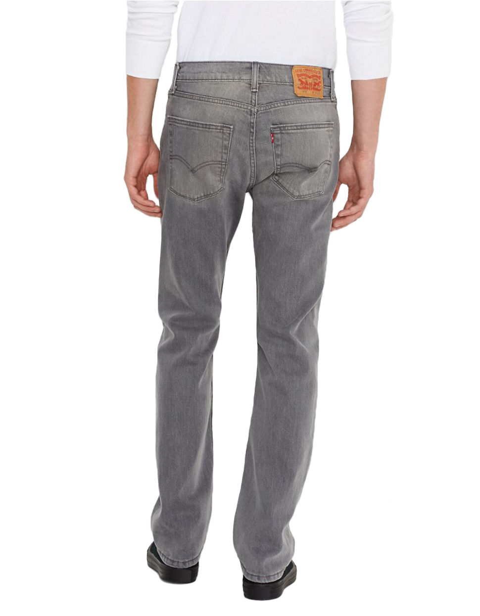 Leviu0026#39;s 513 Slim Straight Express Jeans in Gray for Men | Lyst