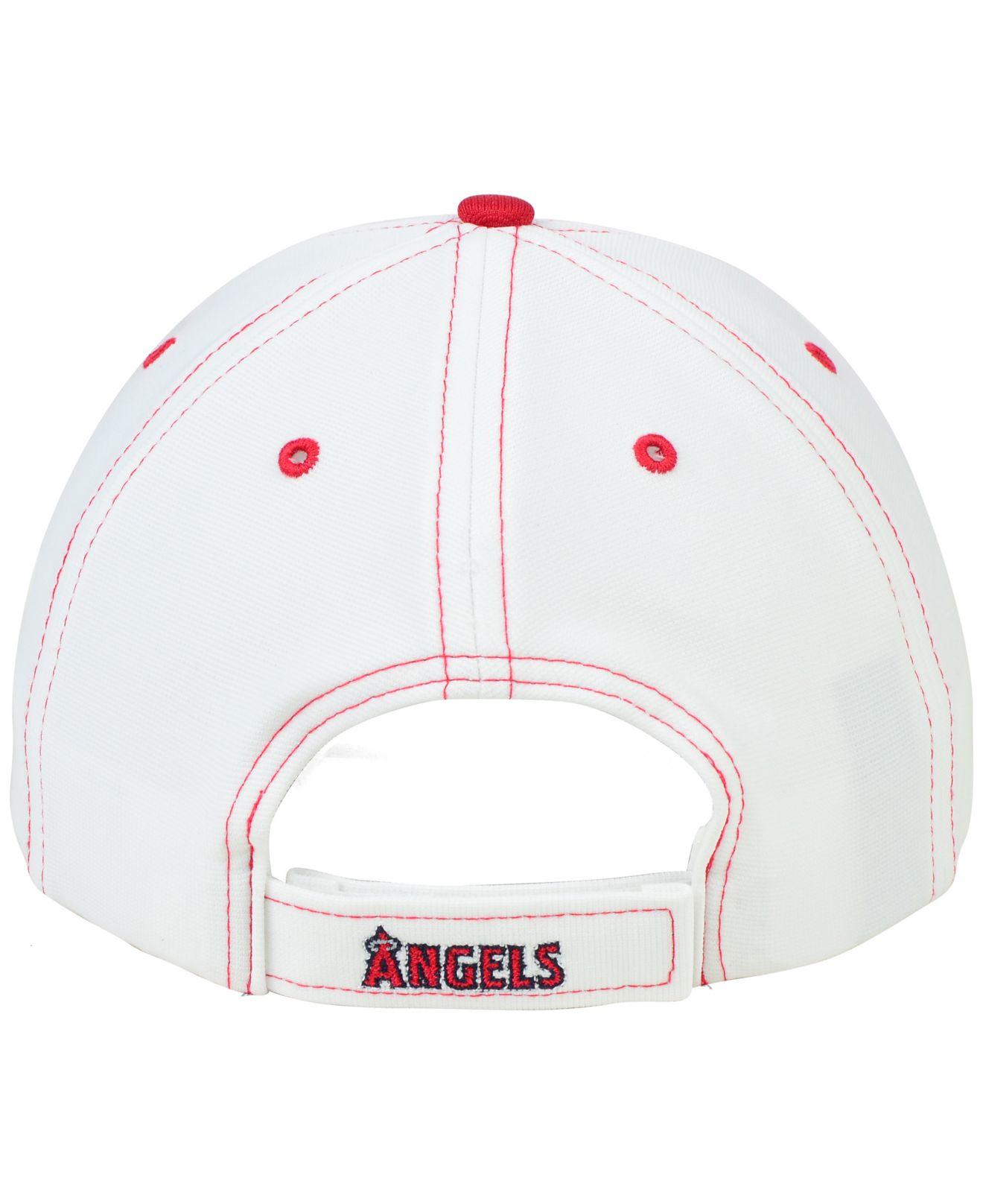 buy popular c555f f5d1f 47 Brand Los Angeles Angels Of Anaheim Light Twig Mvp Cap in White ...