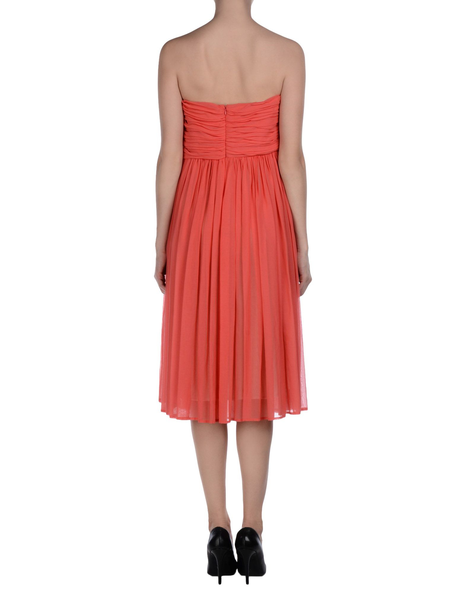 See By Chlo 233 Knee Length Dress In Pink Lyst