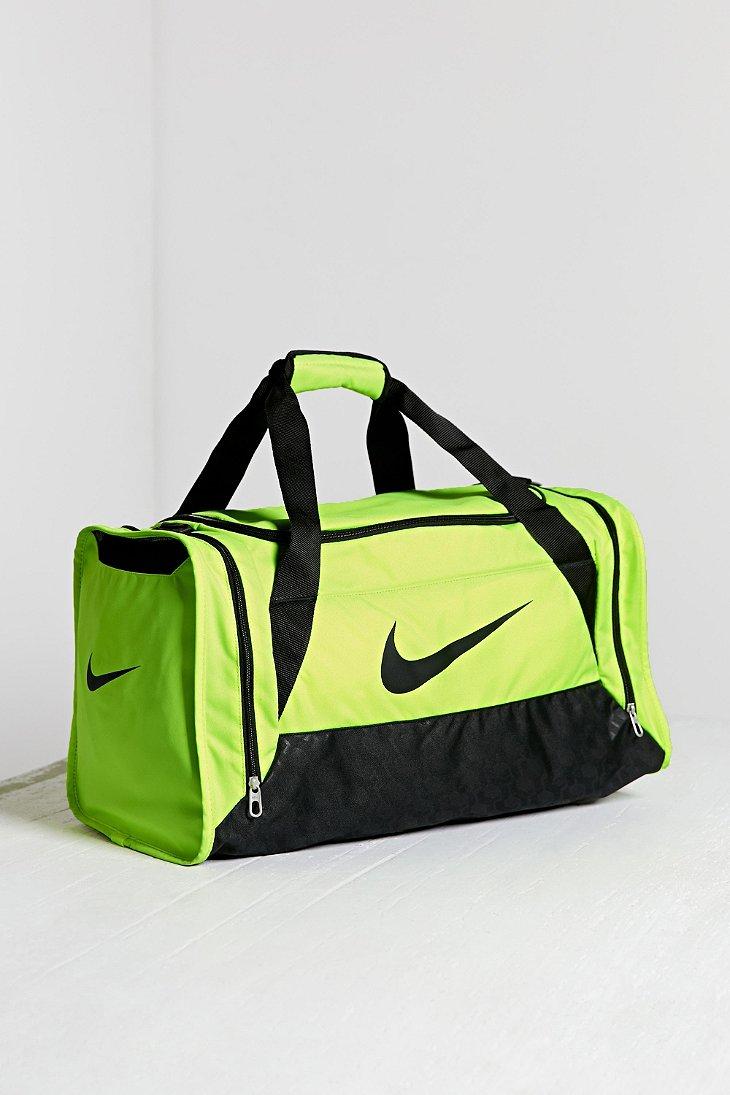 f6598b11587f Lyst - Nike Duffel Bag in Yellow