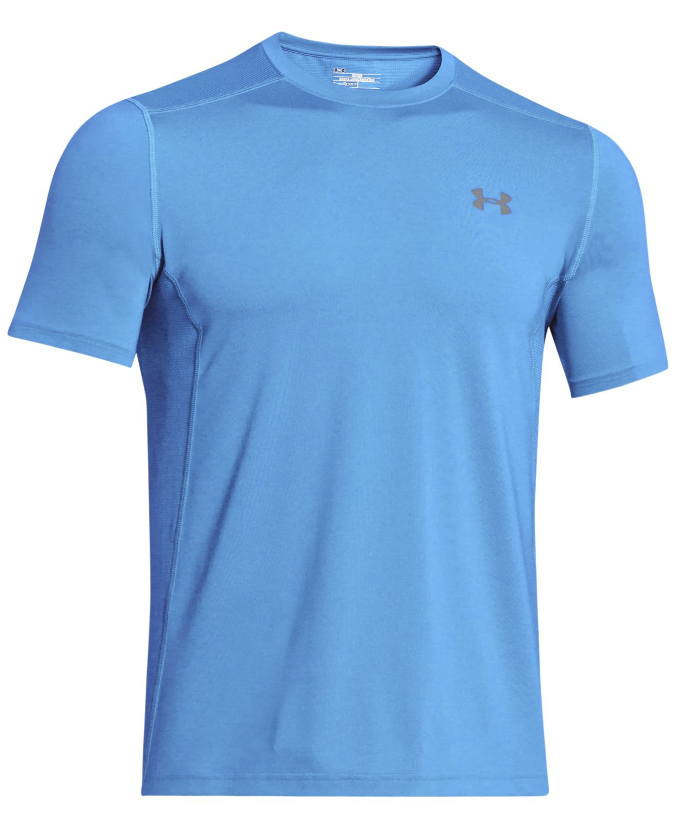 Under Armour Men 39 S Heatgear Raid Fitted T Shirt In Blue