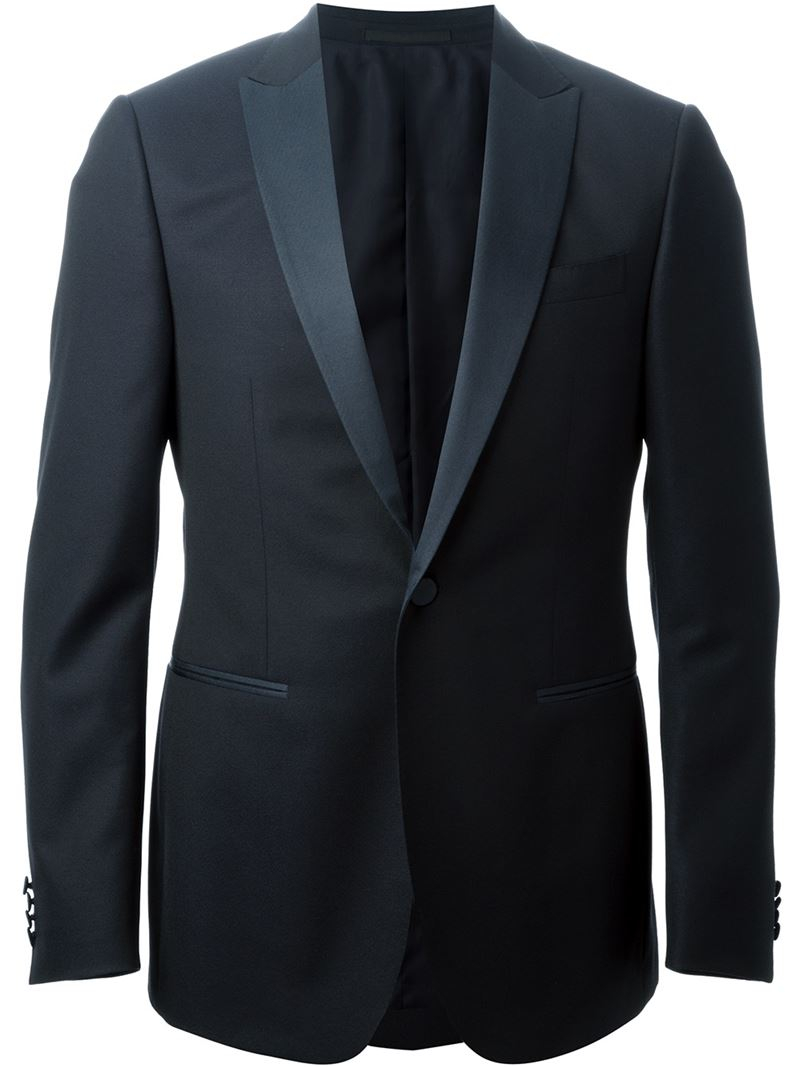 Z Zegna Tuxedo Suit In Blue For Men Lyst