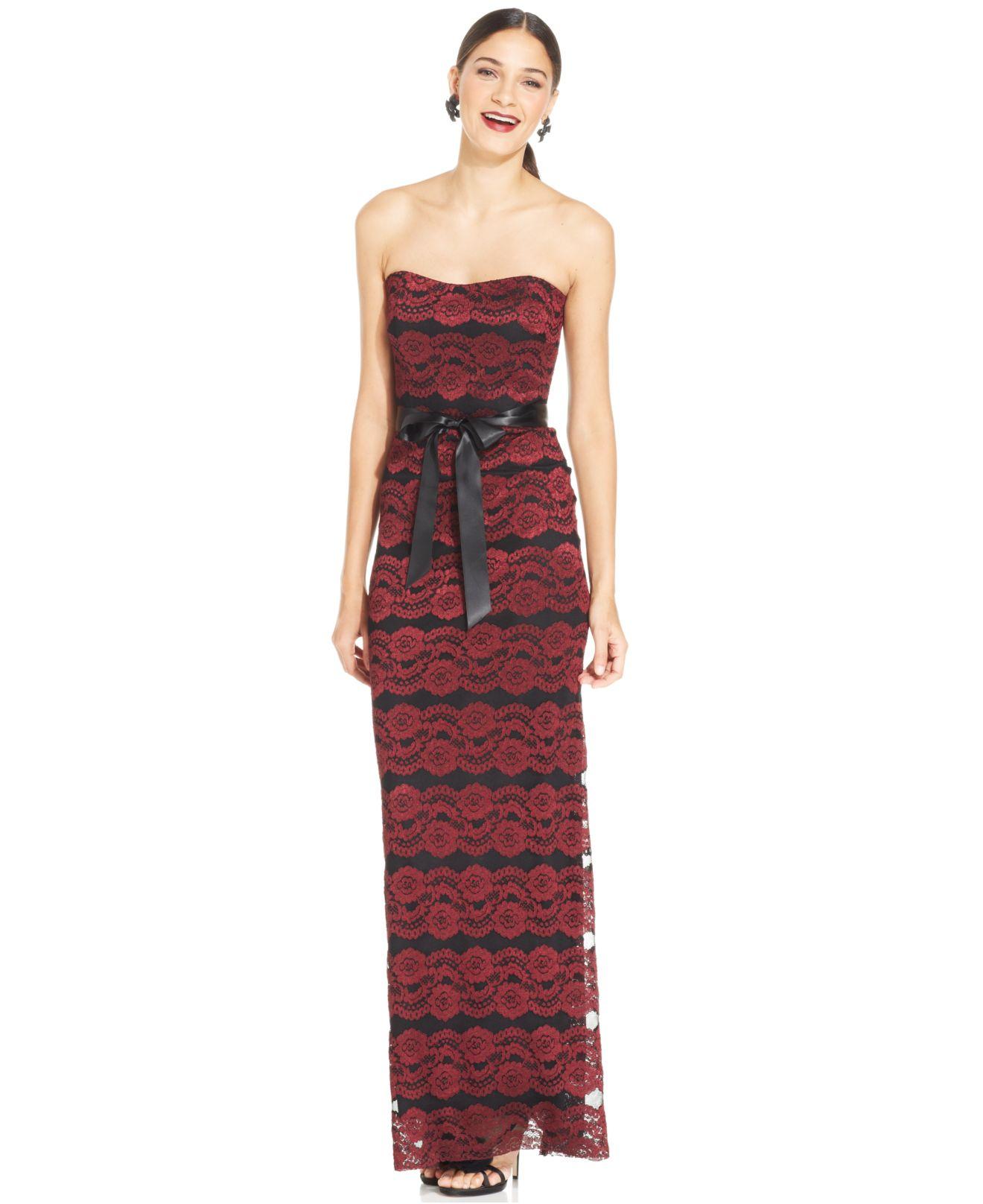 Xscape Dress Strapless