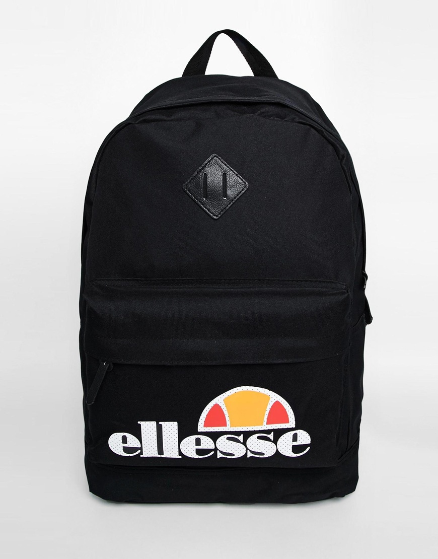 Ellesse Backpack in Black for Men | Lyst