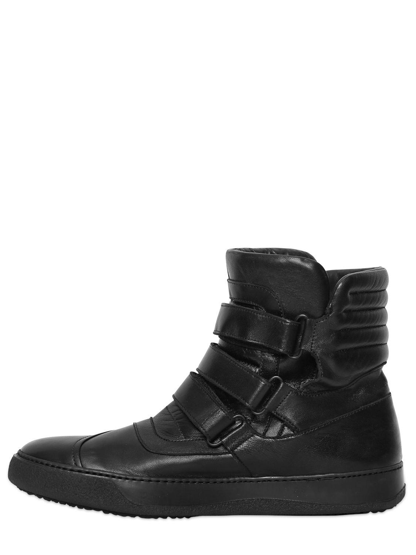 BB Bruno Bordese Velcro Nappa Leather