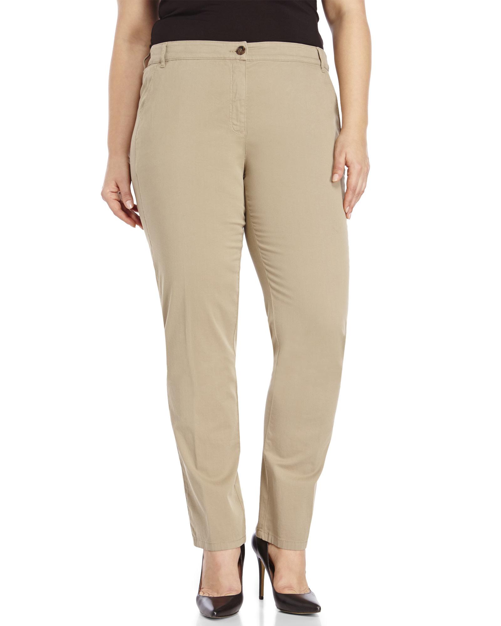 Plus Size Twill Pants Vpi Pants