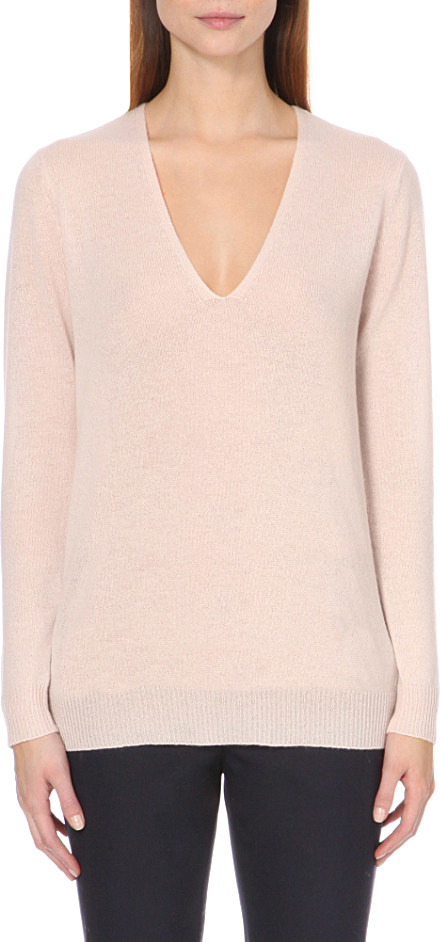 Theory cashmere V-neck jumper Clearance For Sale Genuine Cheap Price Sale Fashionable Clearance Newest From China For Sale fLoNru
