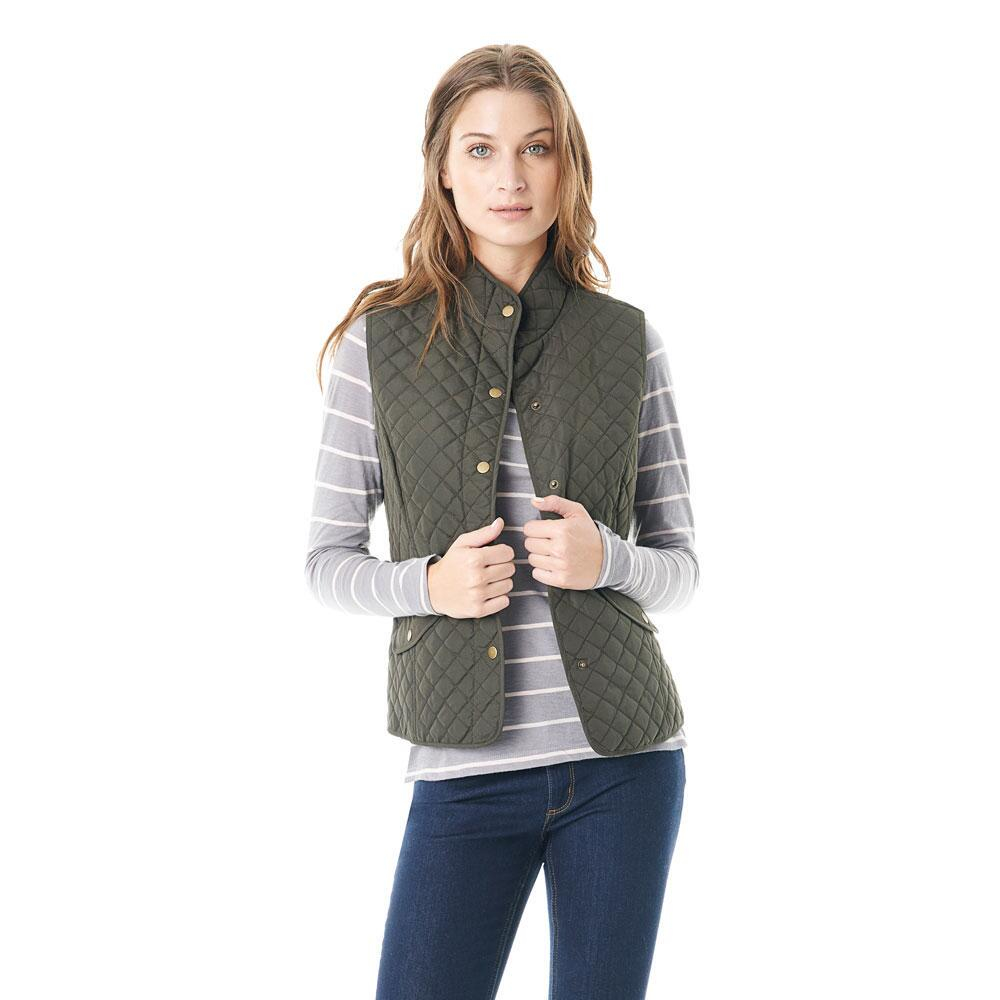 fit quilted trim vest green quilt lowerdale barbour nordstrom s
