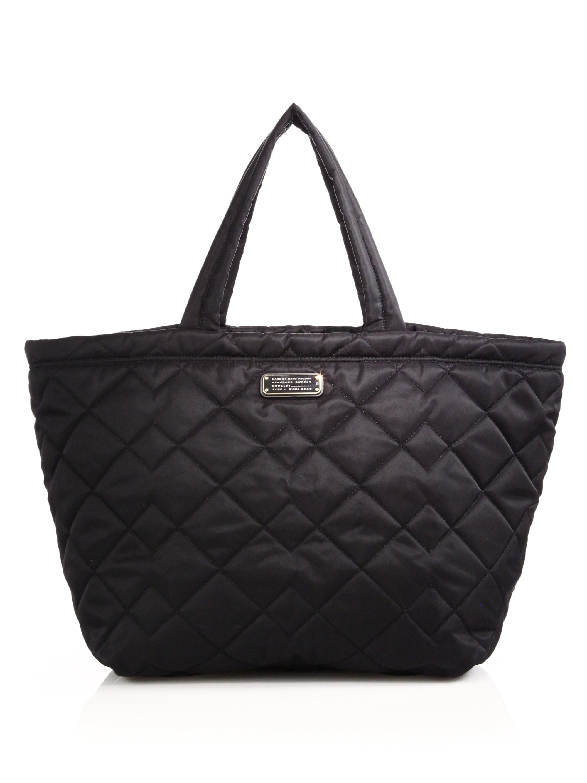 Quilted Nylon Tote 109