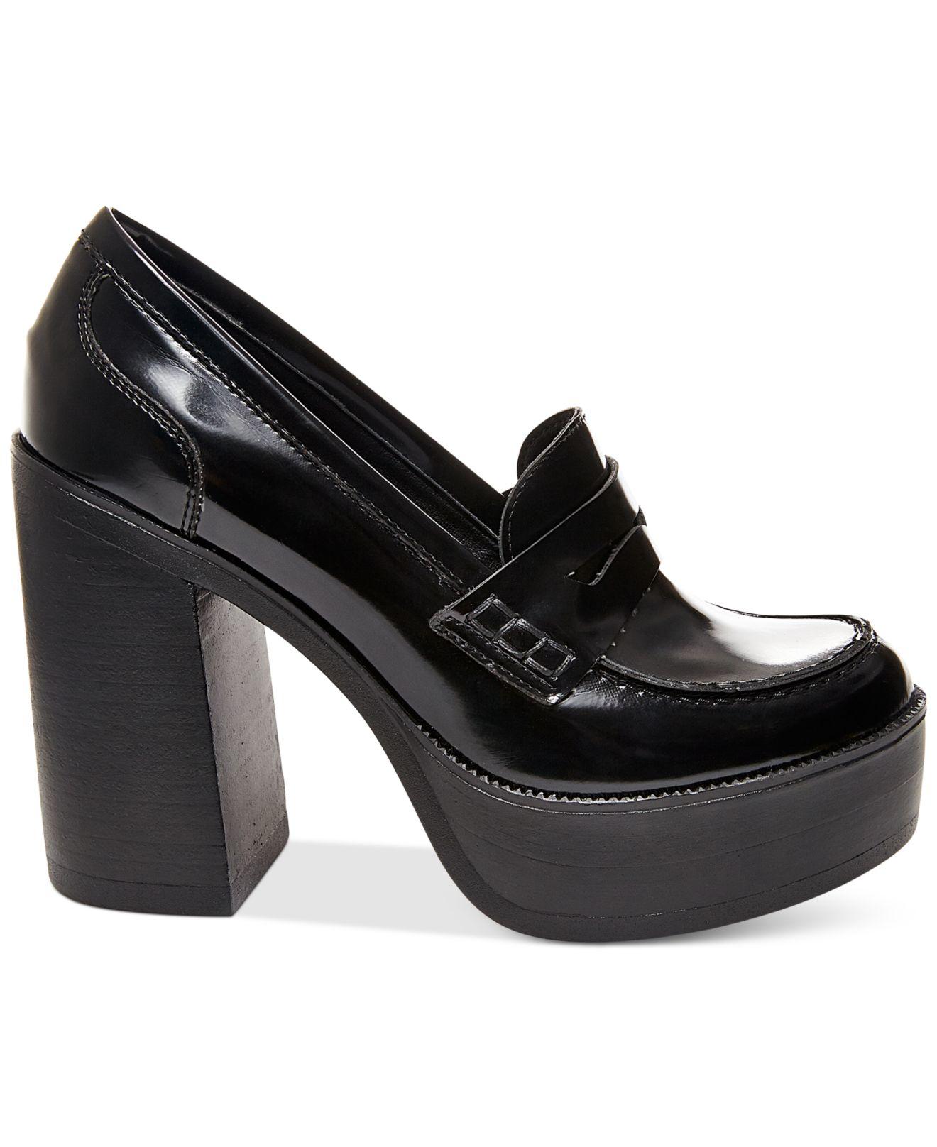 Steve madden Women's Juniper Platform Penny Loafers in ...