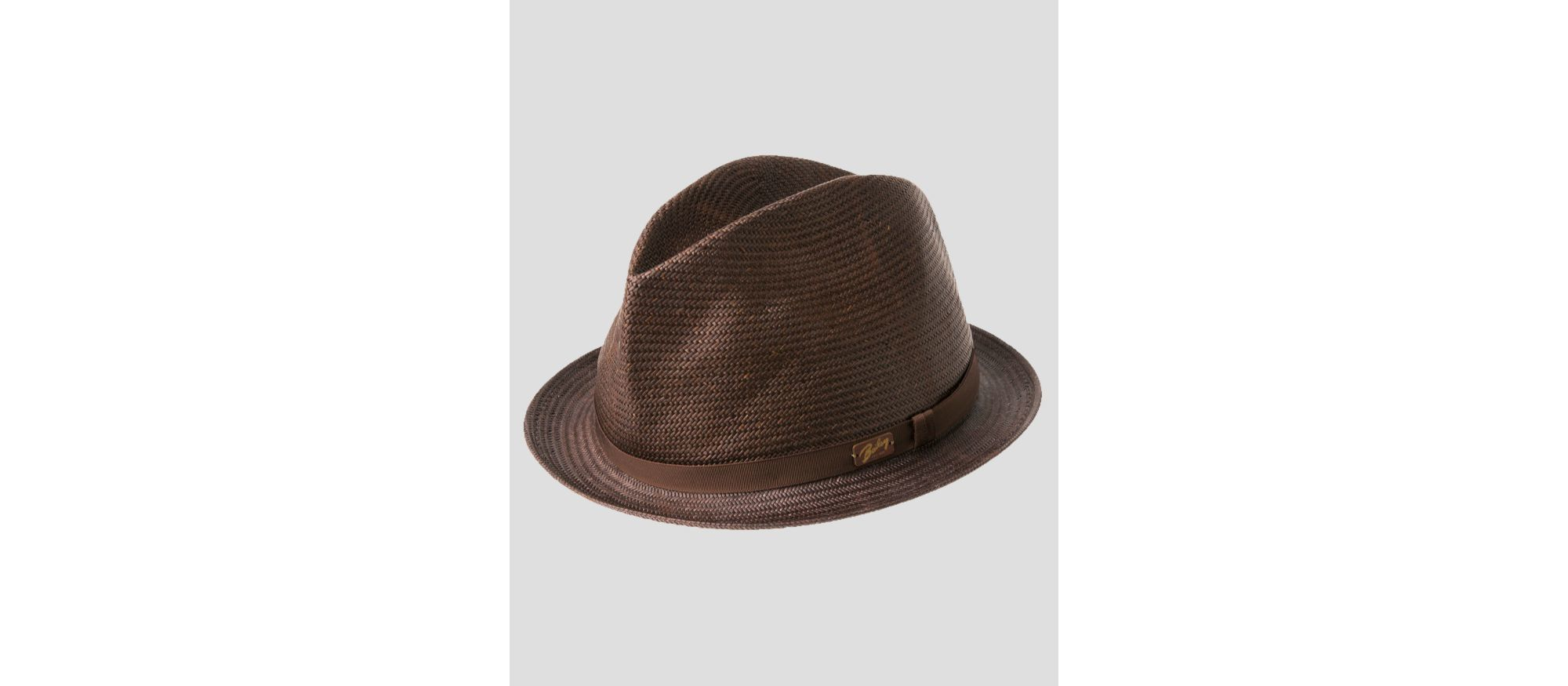 96f891b1222 Lyst - Bailey of Hollywood Loche Center Dent Crushed Straw Hat in ...