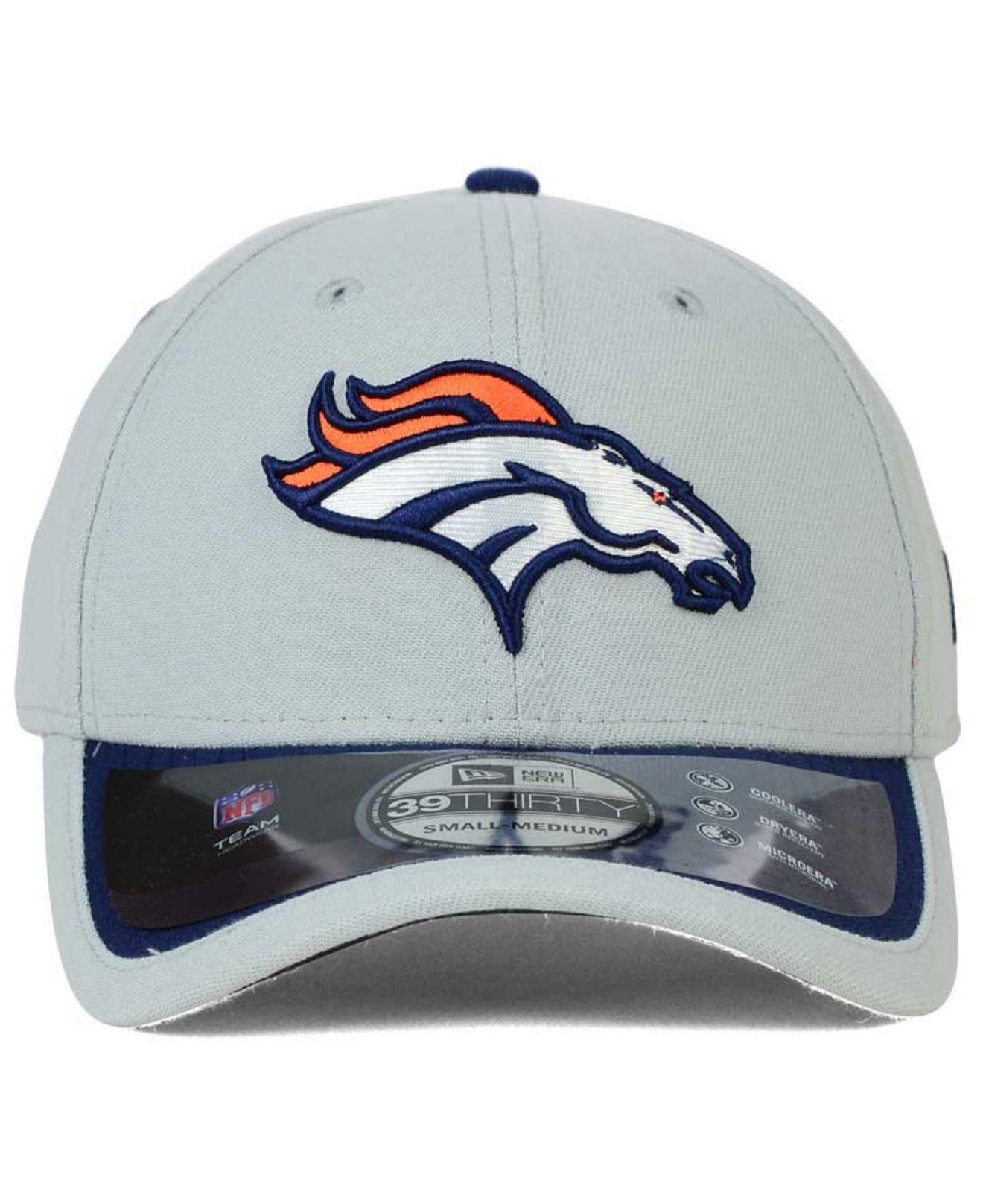 5cf1c323 shop denver broncos grey hat dd20f 6963d