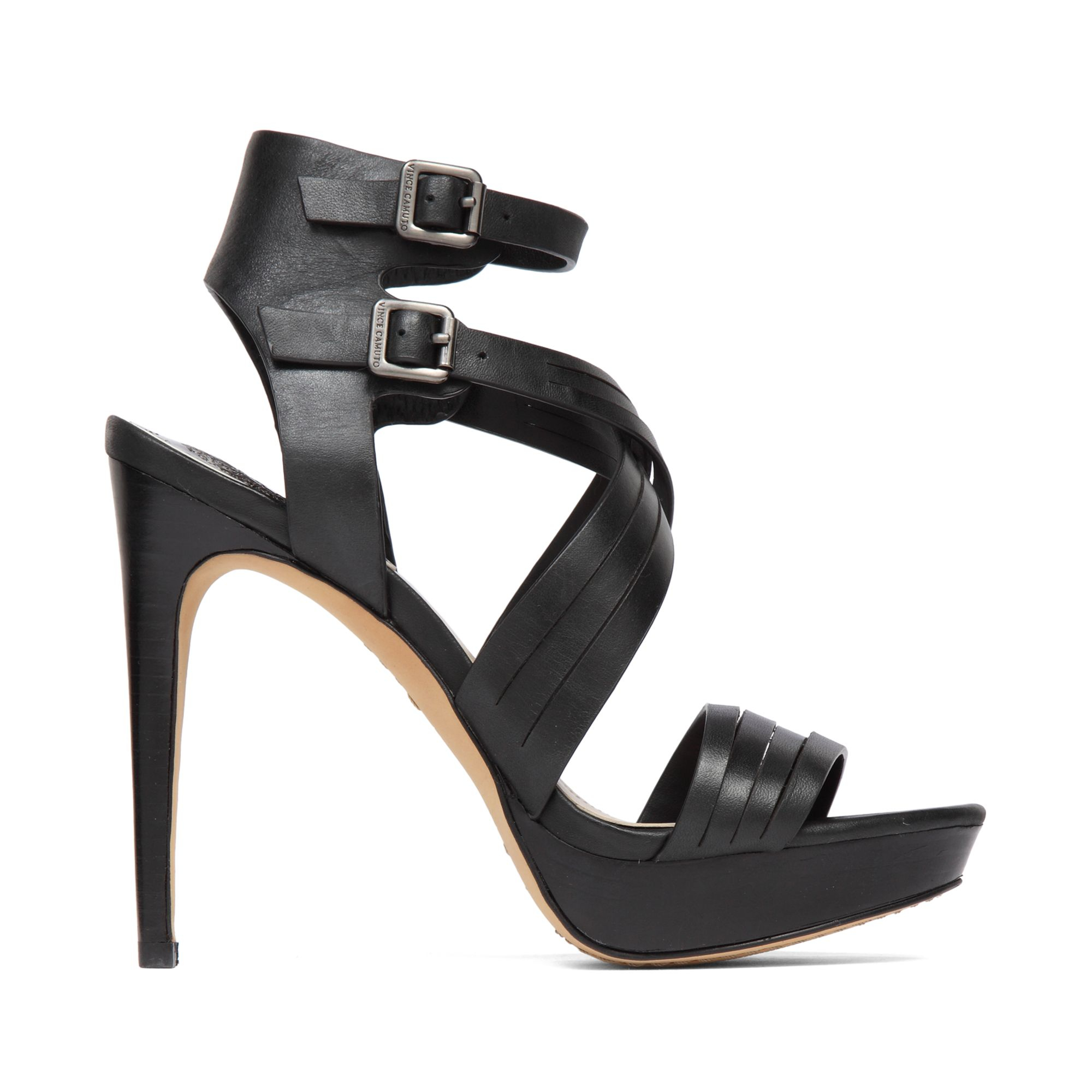 Vince Camuto Jistil High Heel Platform Sandals In Black Lyst