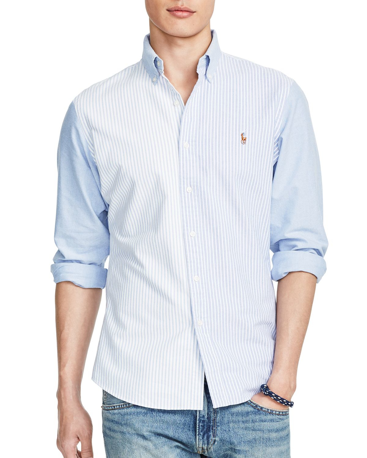 slim fit white button down shirt custom shirt