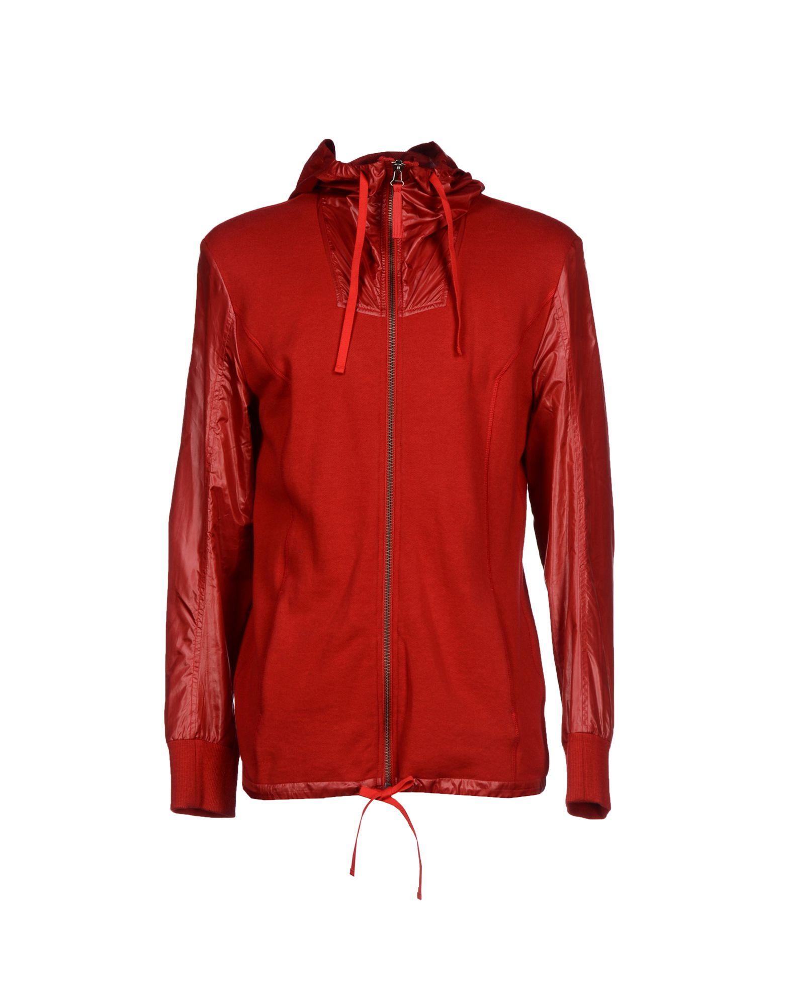 Lyst helmut lang sweatshirt in red for men - Sweatshirt kleid lang ...