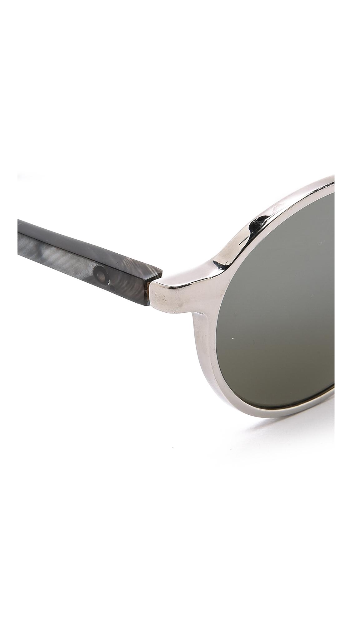 Etnia Barcelona Yokohama Sunset Sunglasses - Platinum in Metallic