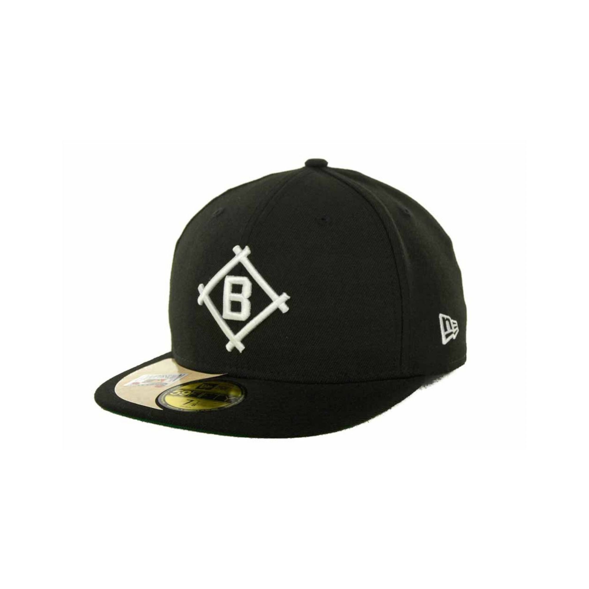5c6507d0649 Lyst - KTZ Brooklyn Dodgers Cooperstown Patch 59fifty Cap in Black ...