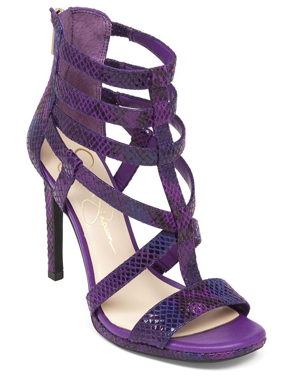 Purple Sandals With Heels