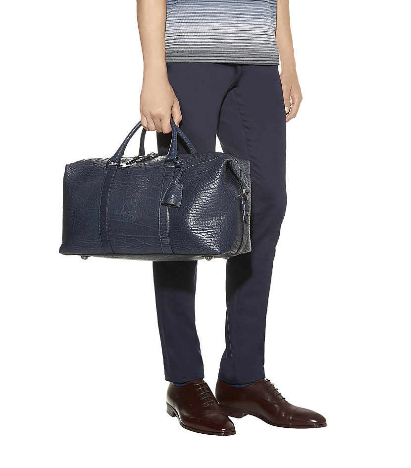 Mulberry Small Clipper Holdall in Blue for Men - Lyst 79264074c87ae