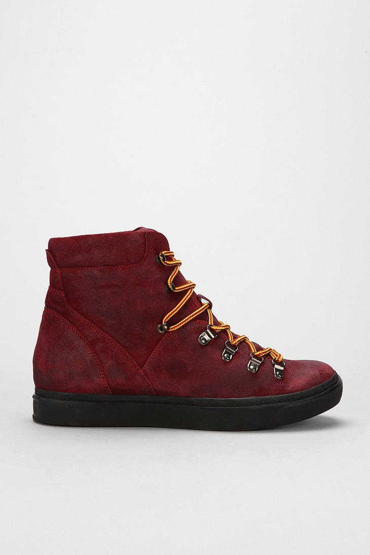 Jeffrey Campbell The Damned Mountain Man Suede Hiker Boot