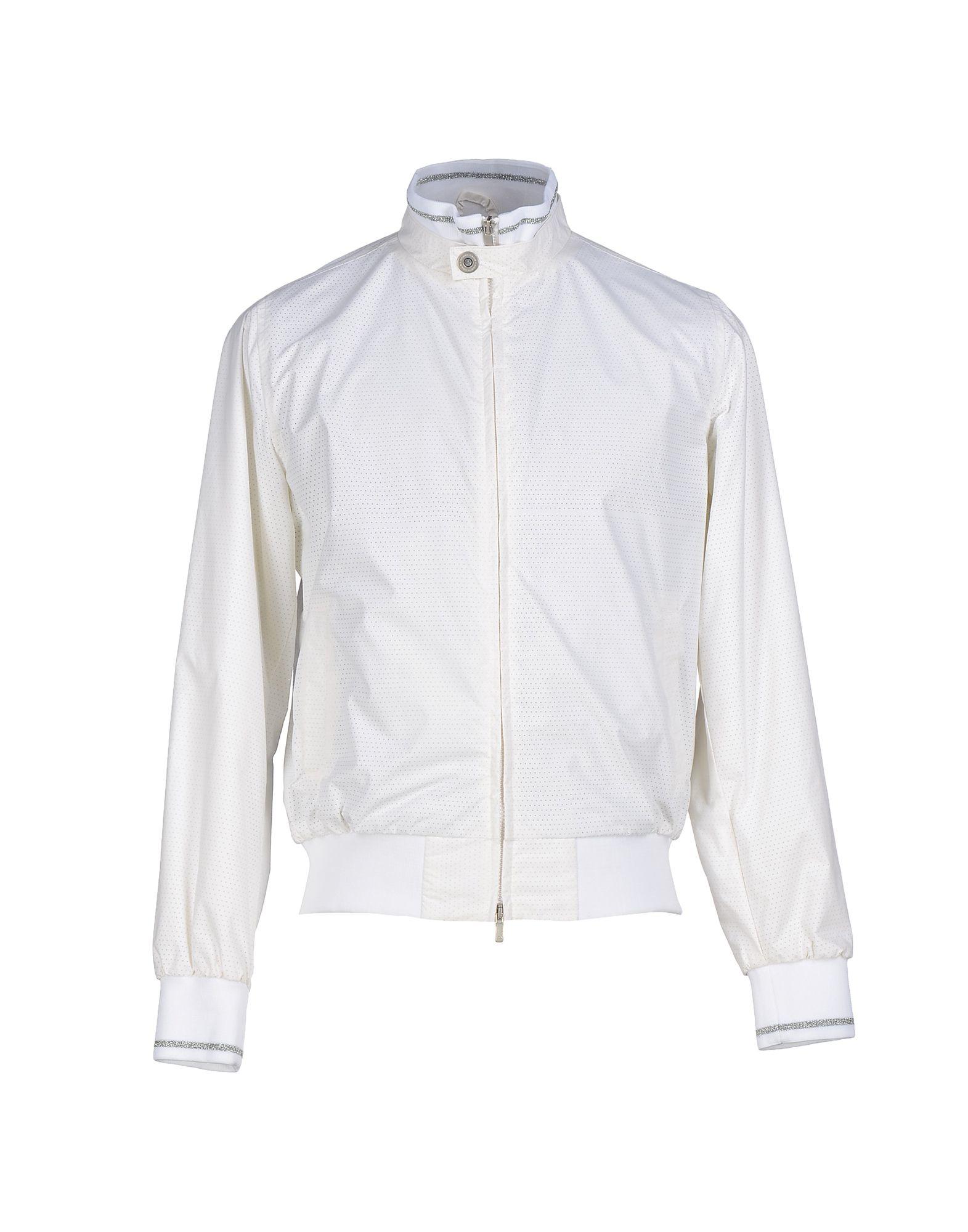 north sails jacket in white for men save 69 lyst. Black Bedroom Furniture Sets. Home Design Ideas
