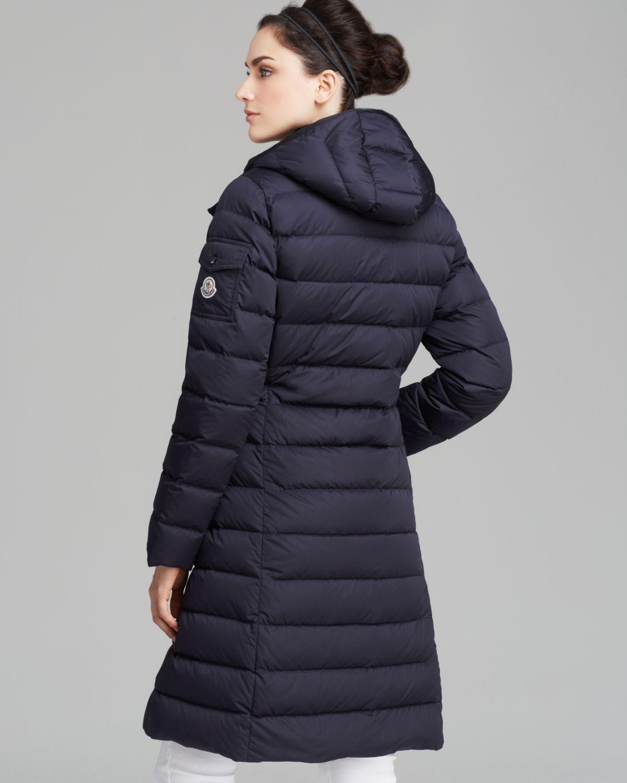 moncler mokamat mid-length down coat
