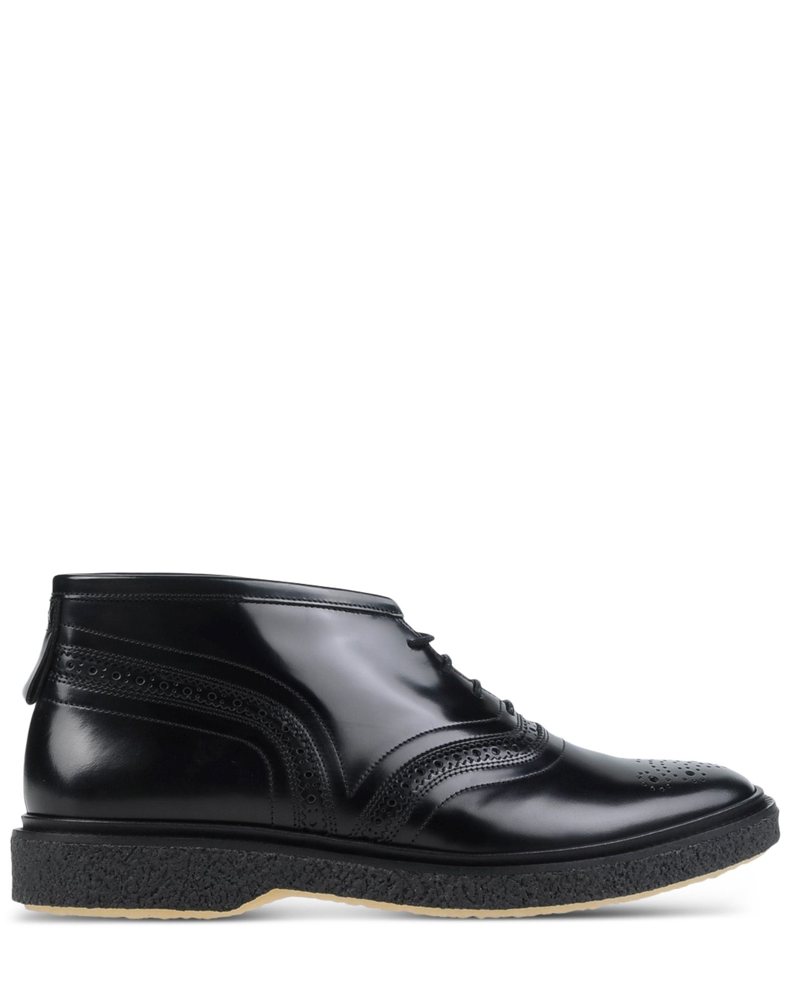 adieu high top dress shoes in black for lyst