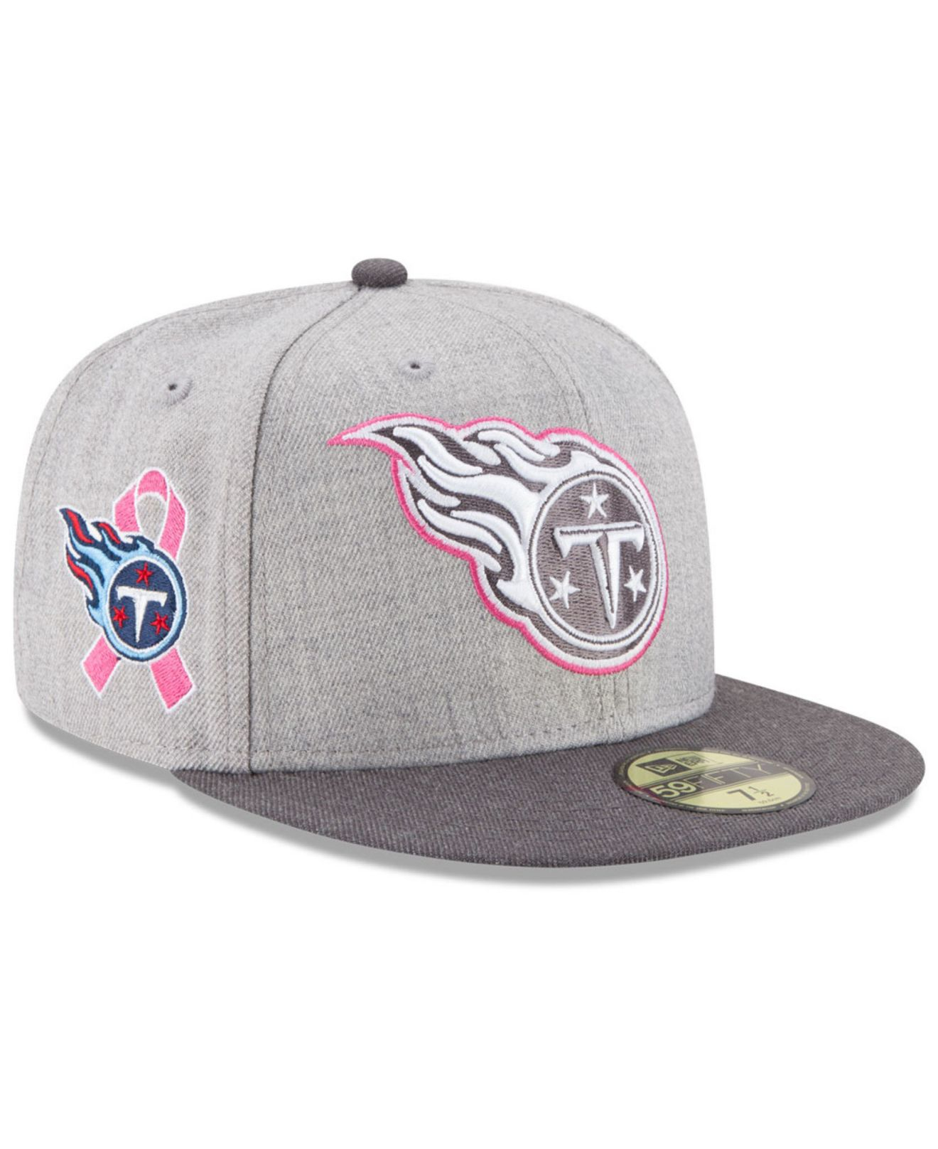 Lyst KTZ Tennessee Titans Breast Cancer Awareness 59fifty Cap in  hot sale