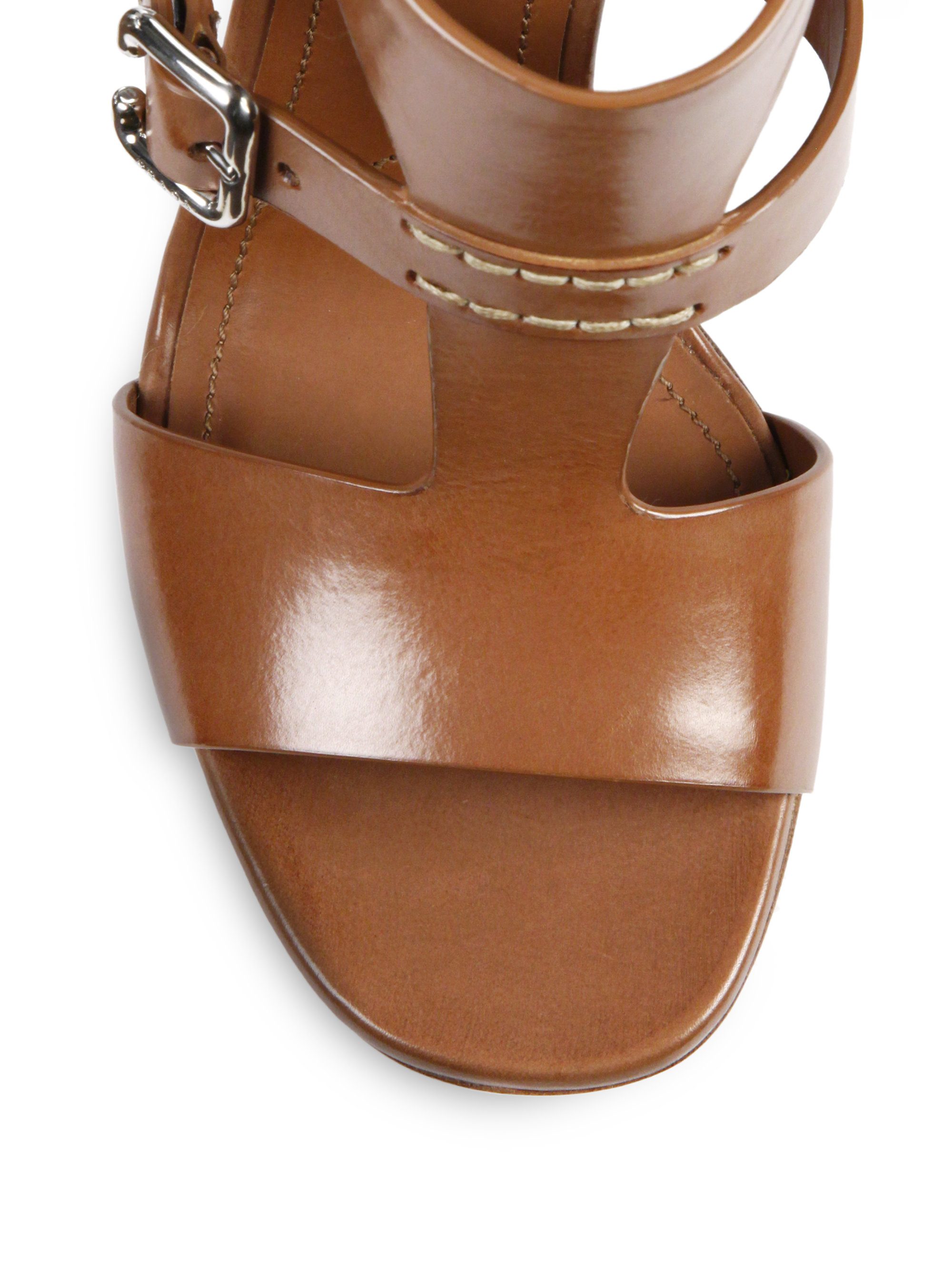 Womens Ankle Strap Slip on Cutout Low Stacked Heel Sandals closed Toe Leather Shoes. from $ 18 5 out of 5 stars 1. Journee Collection. Womens Open-toe Side-zip Stacked Heel Sandals $ 47 5 out of 5 stars 1. CL by Chinese Laundry. Women's Waves Dress Sandal. from $ 14 99 Prime. out of 5 stars Steve Madden.