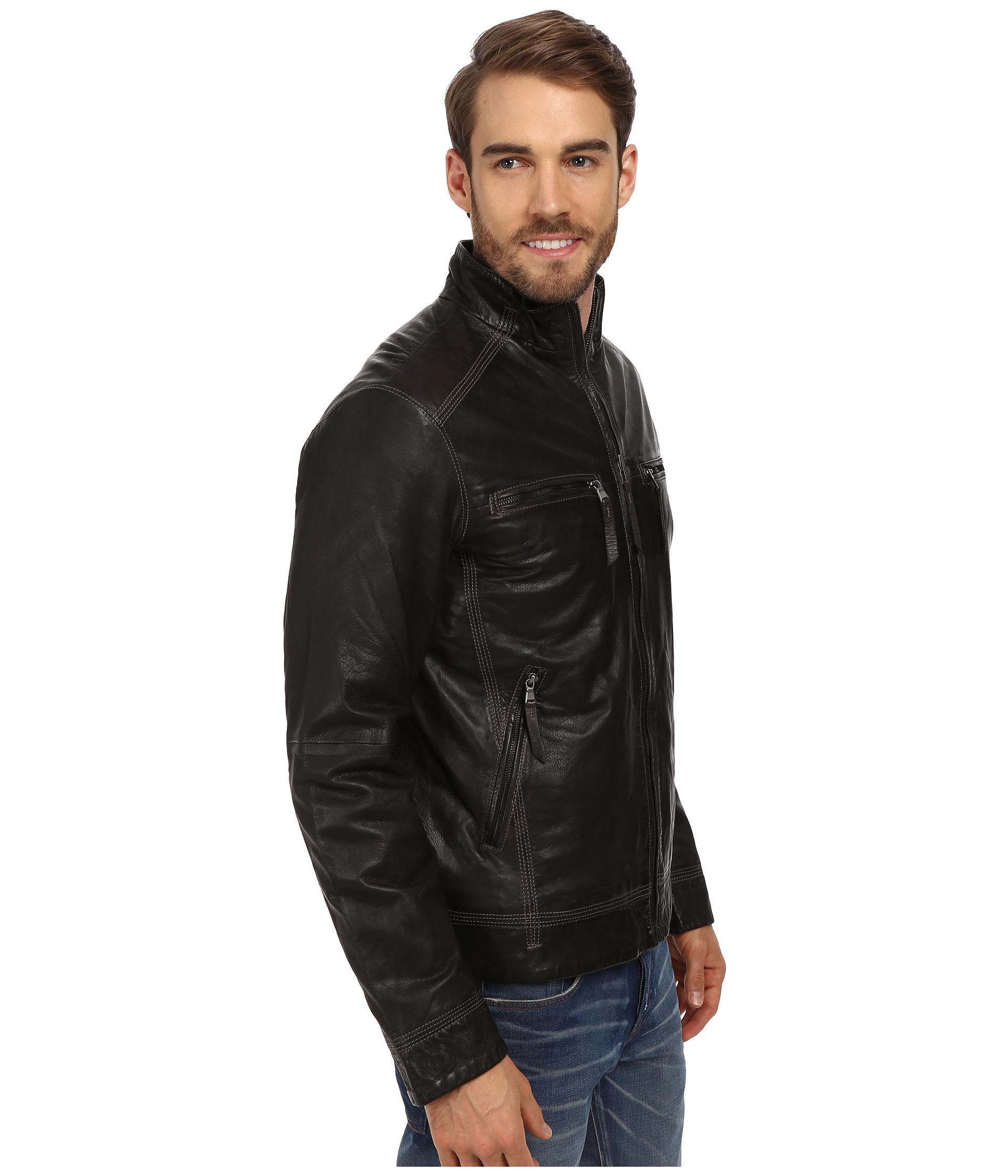 Stetson leather jacket