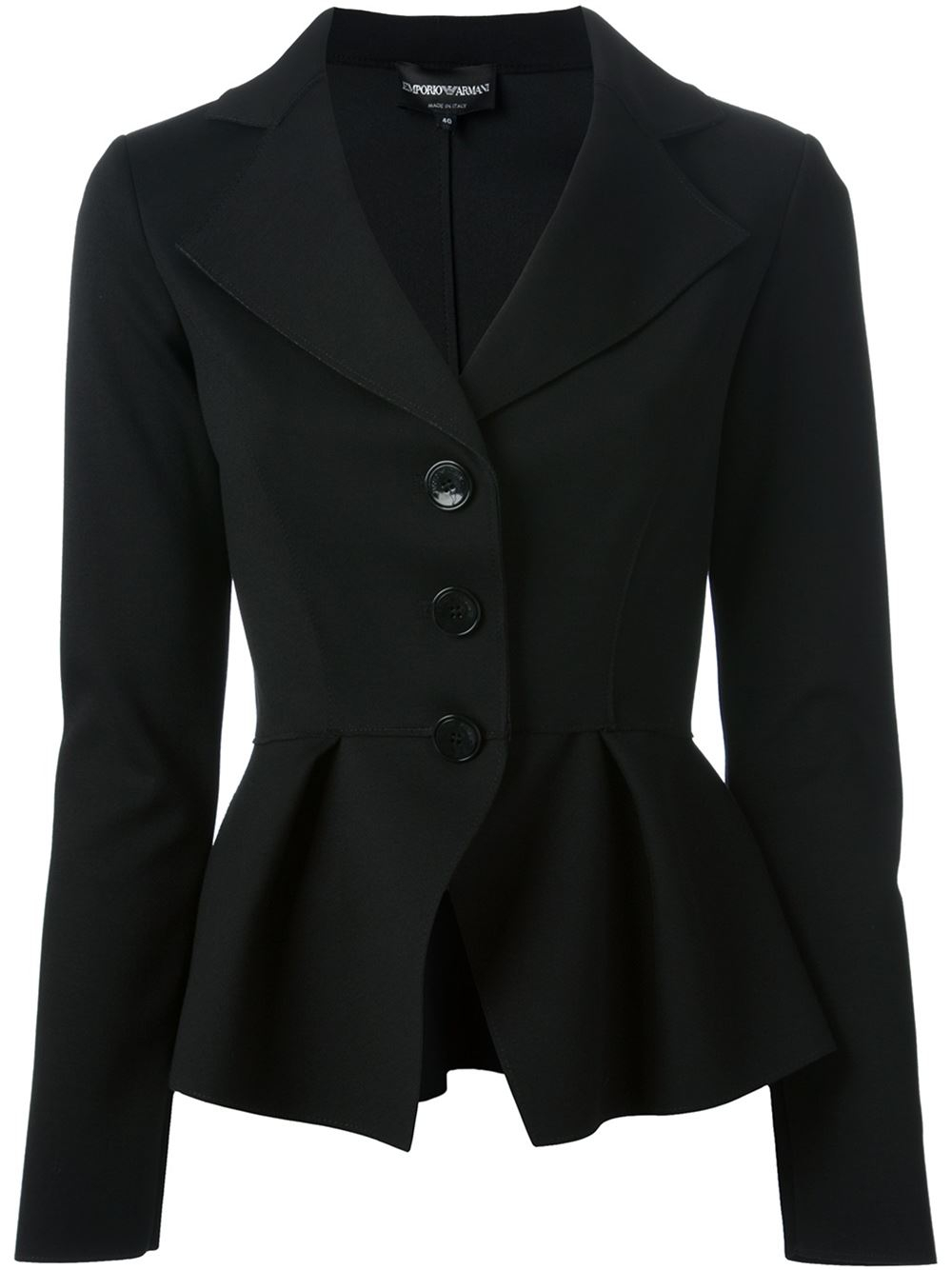 Shop black long sleeves peplum jacket at Neiman Marcus, where you will find free shipping on the latest in fashion from top designers.