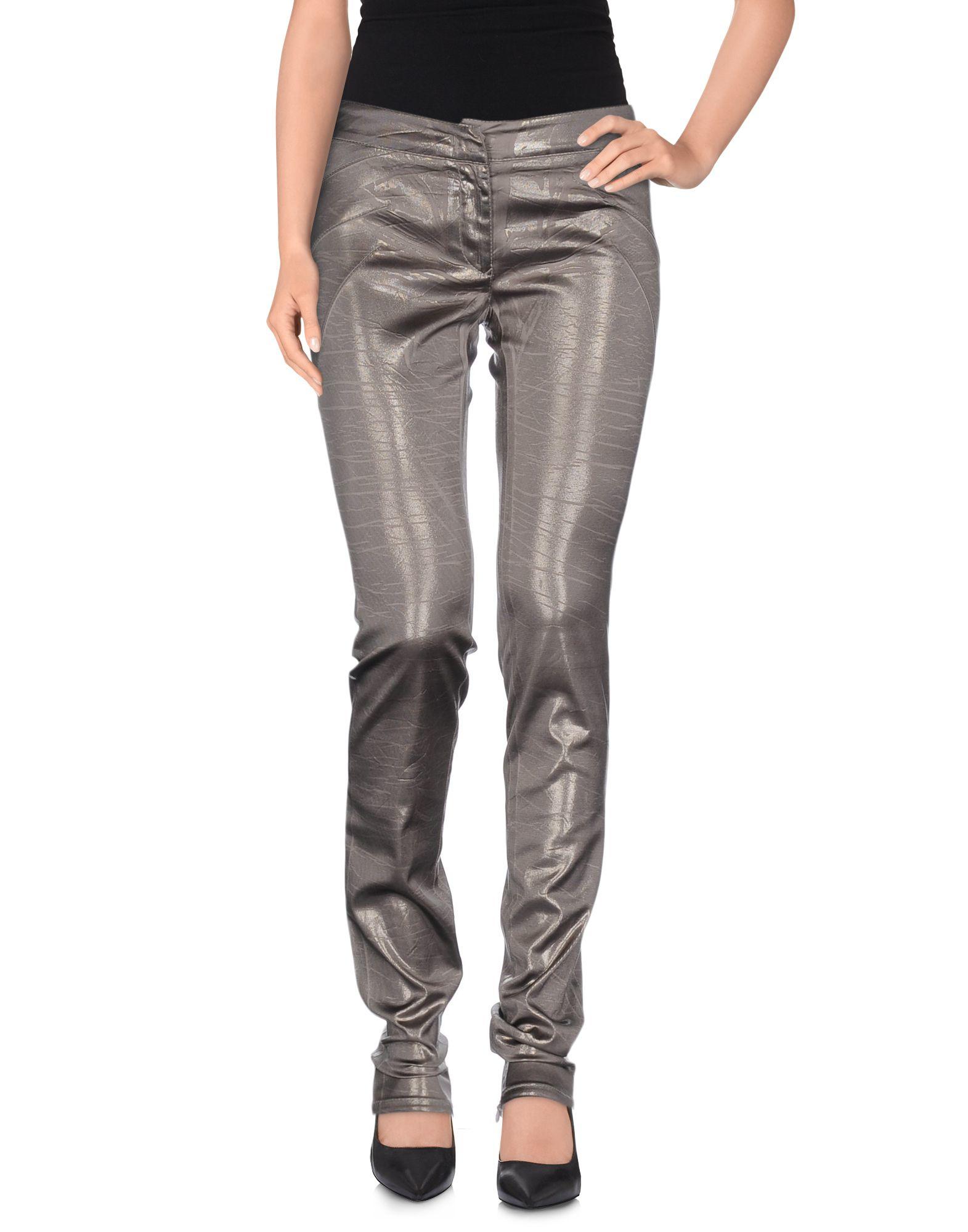 Blumarine Casual Trouser in Metallic