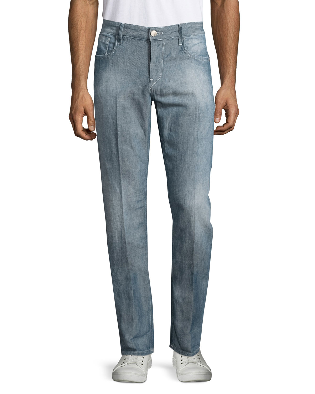 Faded Skinny Jeans Men