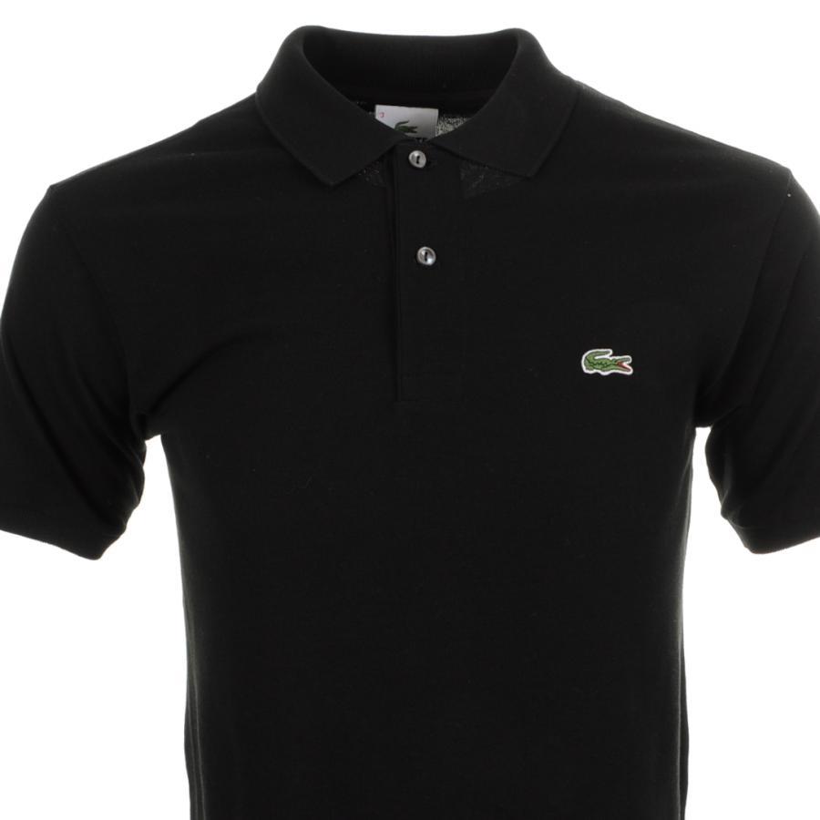 5d9e7a68 Lacoste Black Polo T Shirt for men