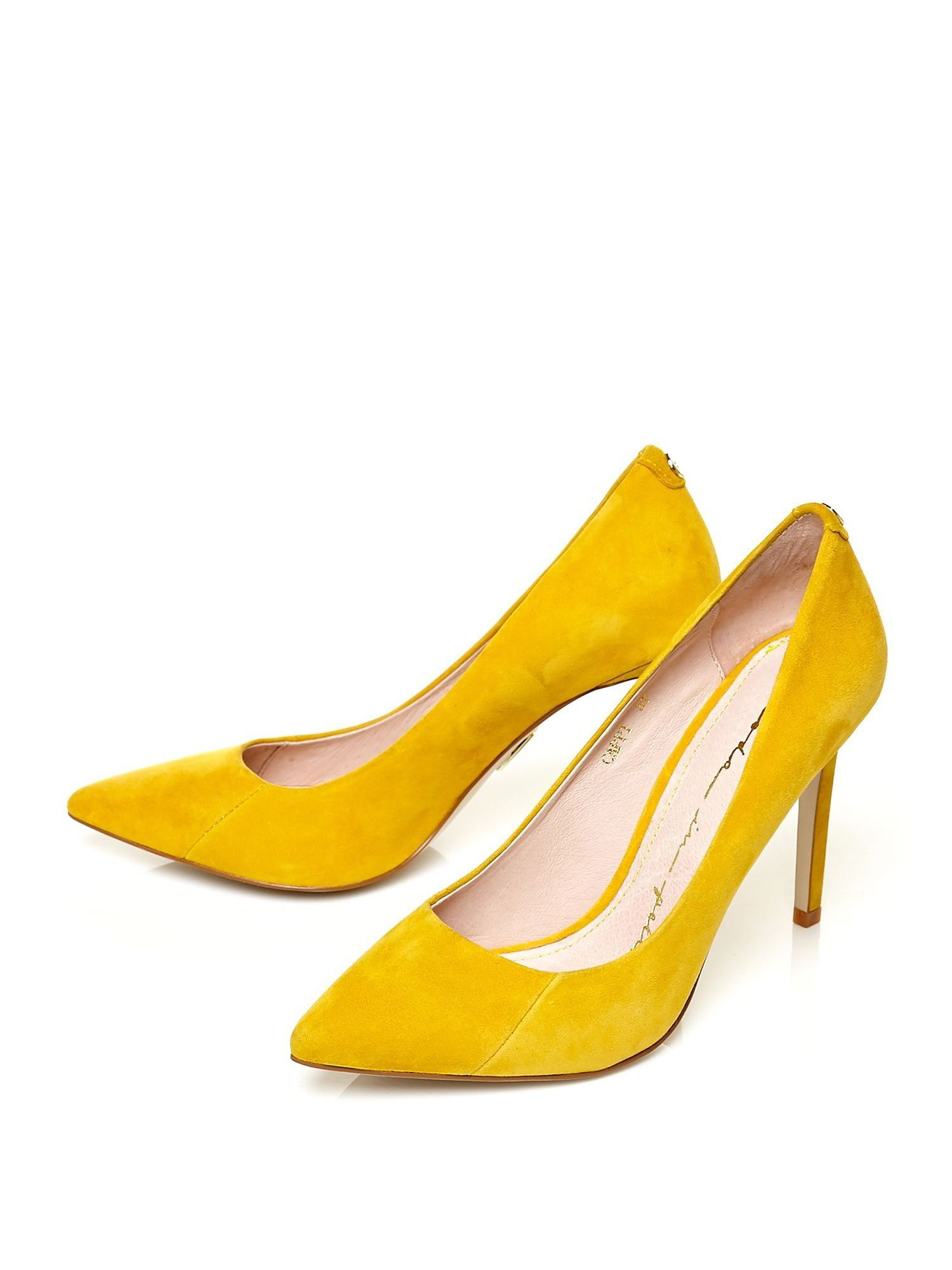Yellow Court Heels