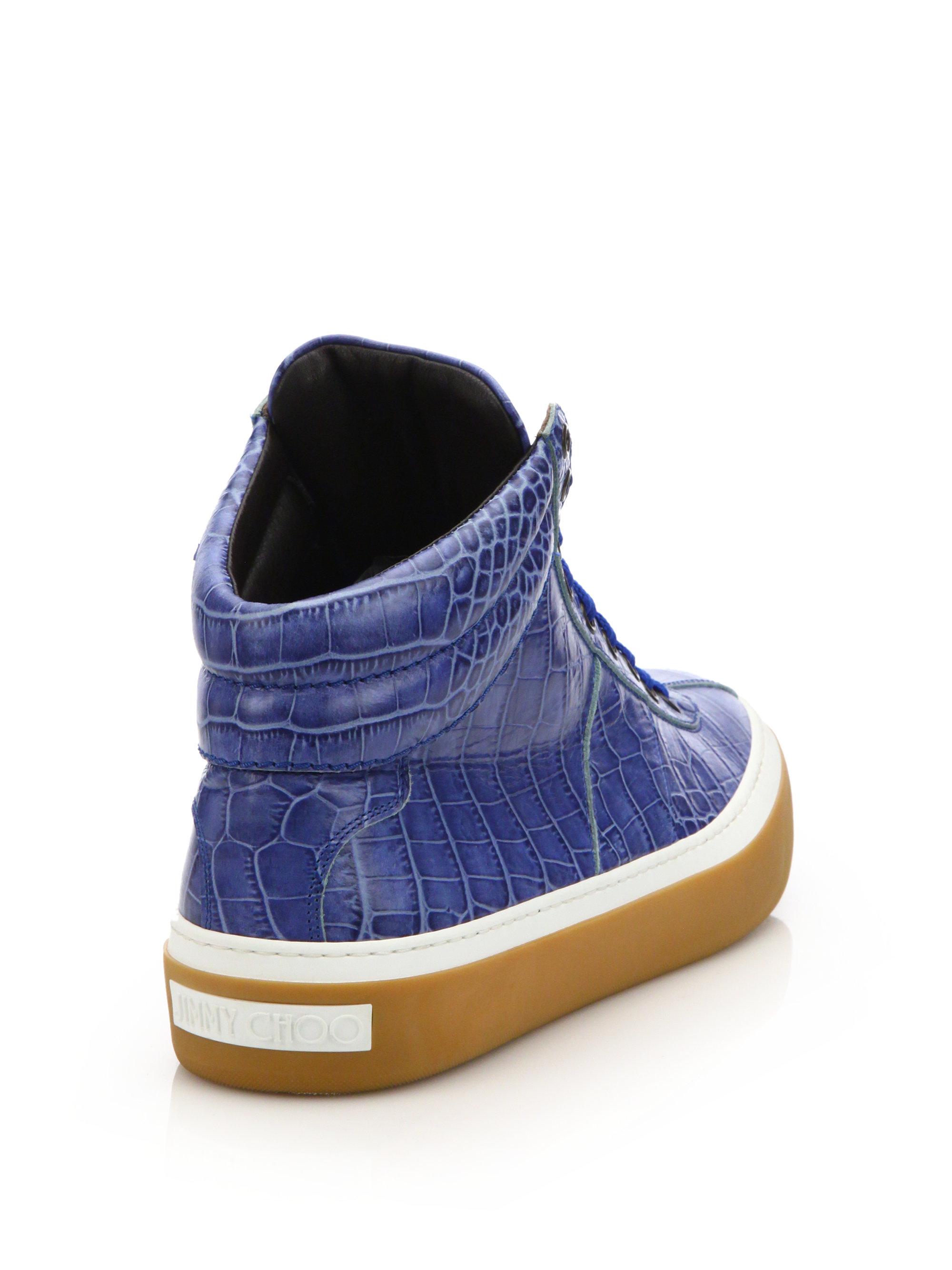 Blue Suede Jett Sneakers Jimmy Choo London LfVkJ