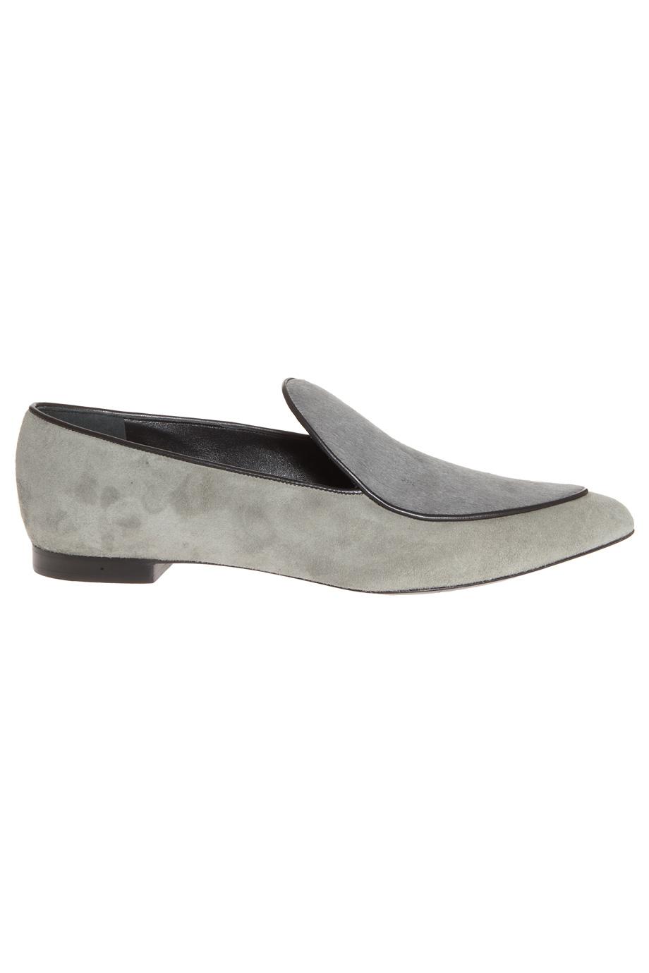 Flat Pony Skin Shoes