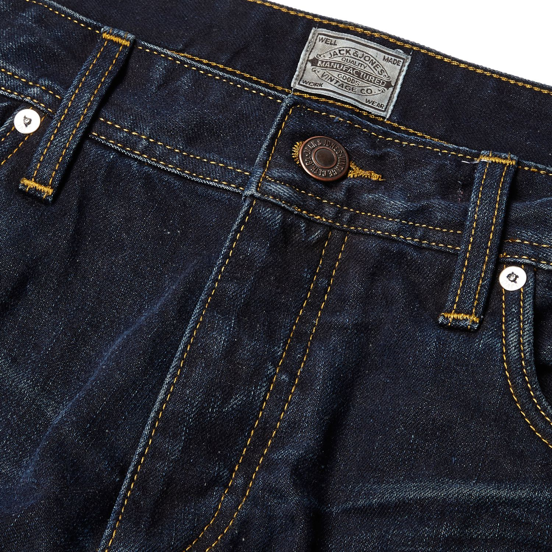 big sale 1ce29 ce04d River Island Dark Wash Jack & Jones Vintage Jeans in Blue ...