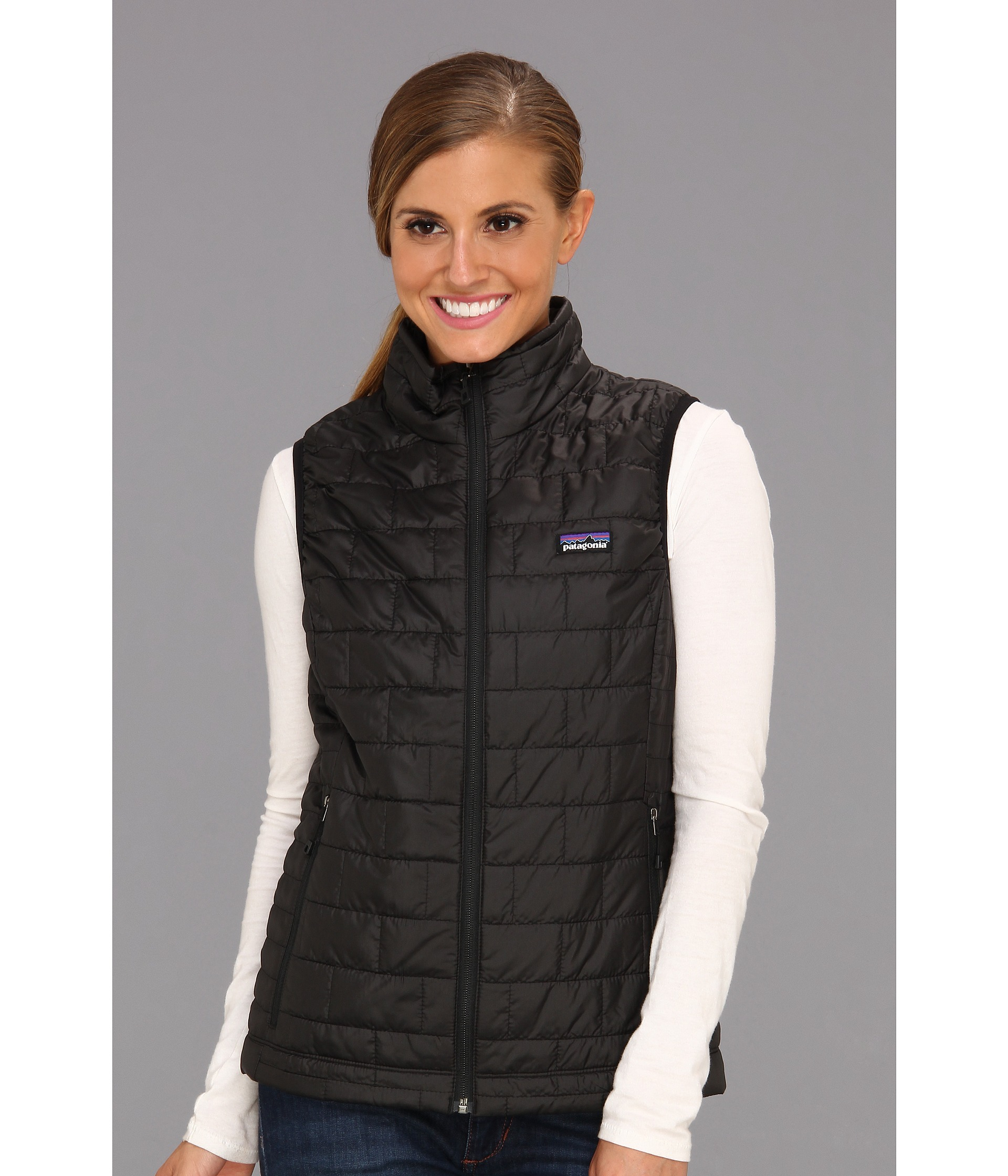 Patagonia Nano Puff® Vest in Black | Lyst
