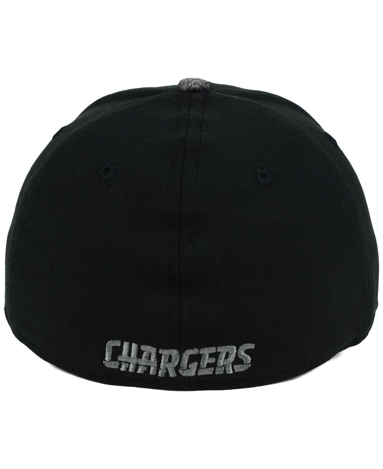 Men S San Diego Chargers New Era Heathered Gray 2 Striped