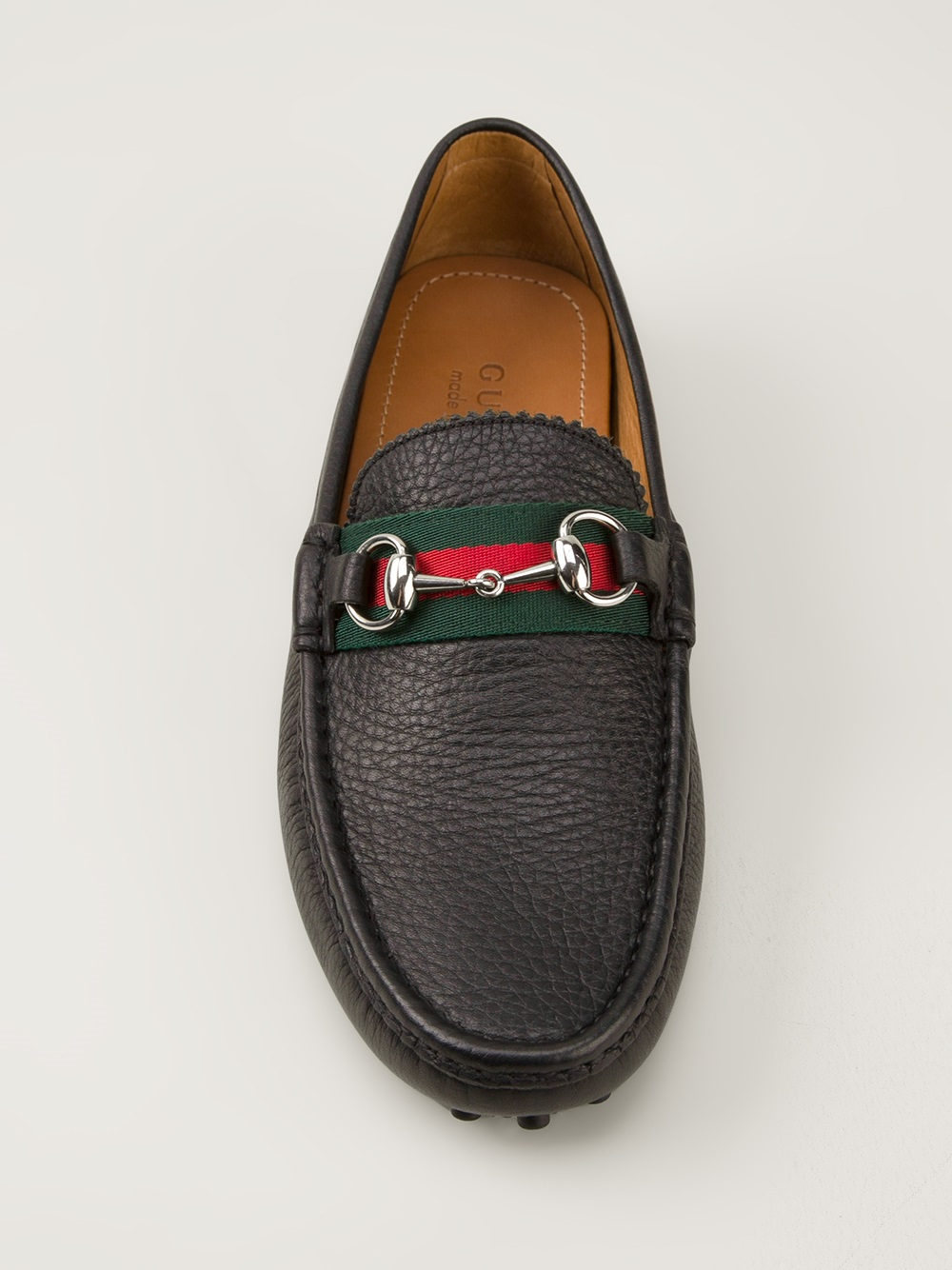 Lyst Gucci Classic Driving Shoes In Black For Men