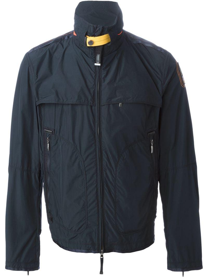 parajumpers echo windbreaker jacket navy
