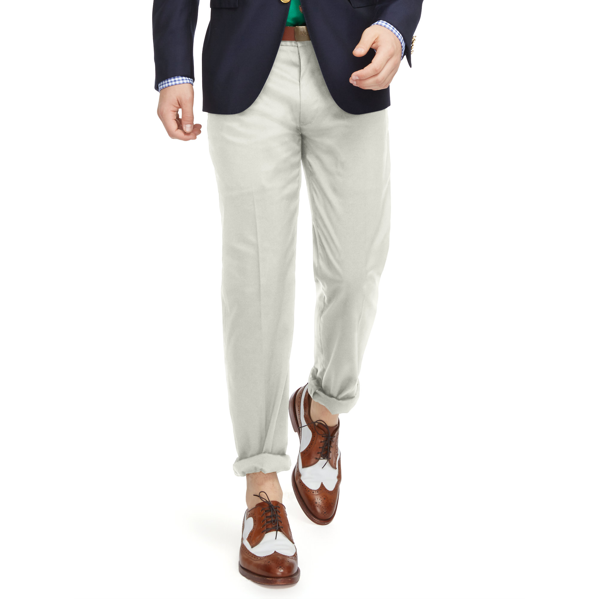 60585b76472 Lyst - Polo Ralph Lauren Stretch Classic Fit Pant in Natural for Men