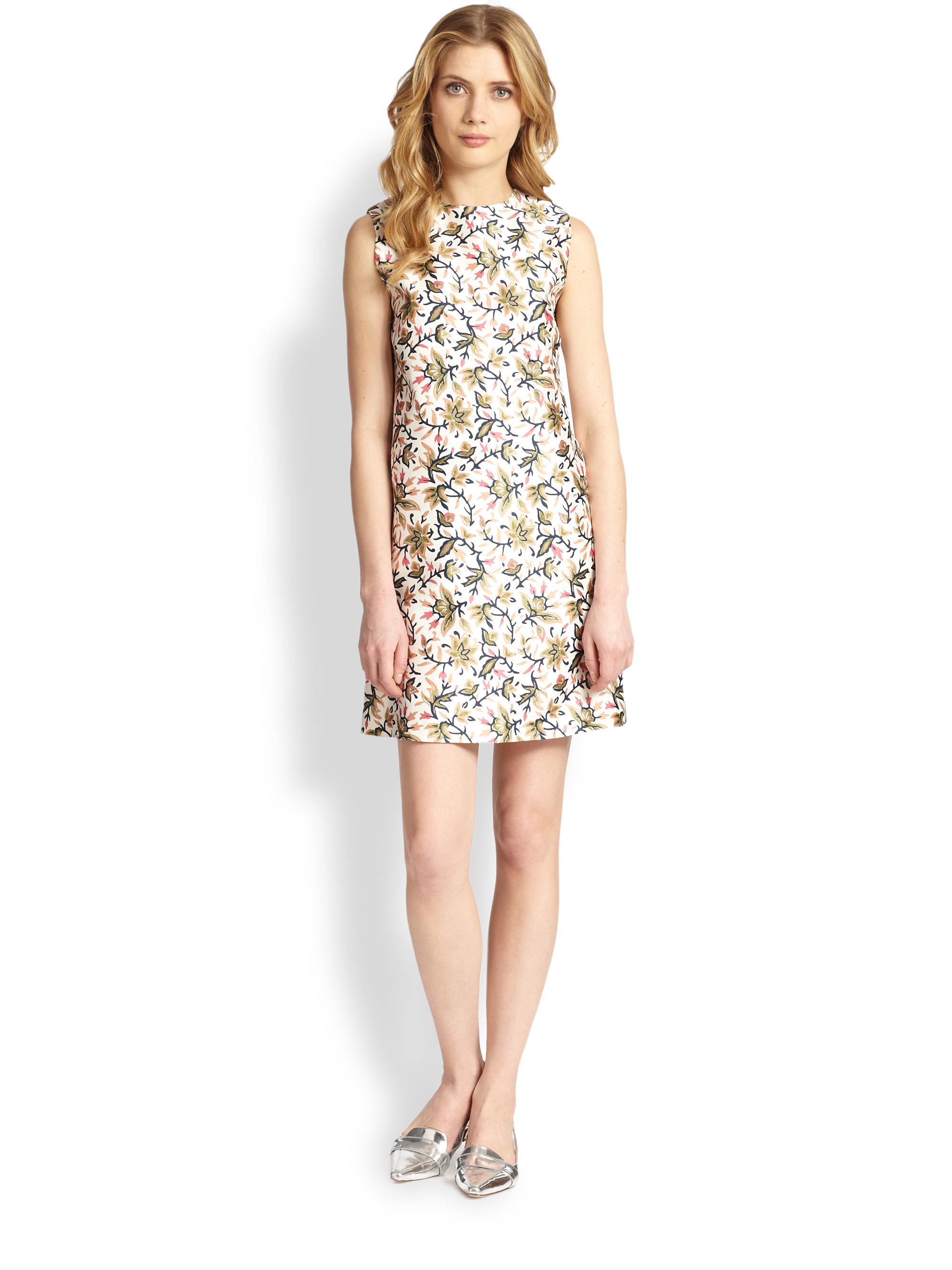 fb683f47da7c Lyst - Tory Burch Esmeralda Dress