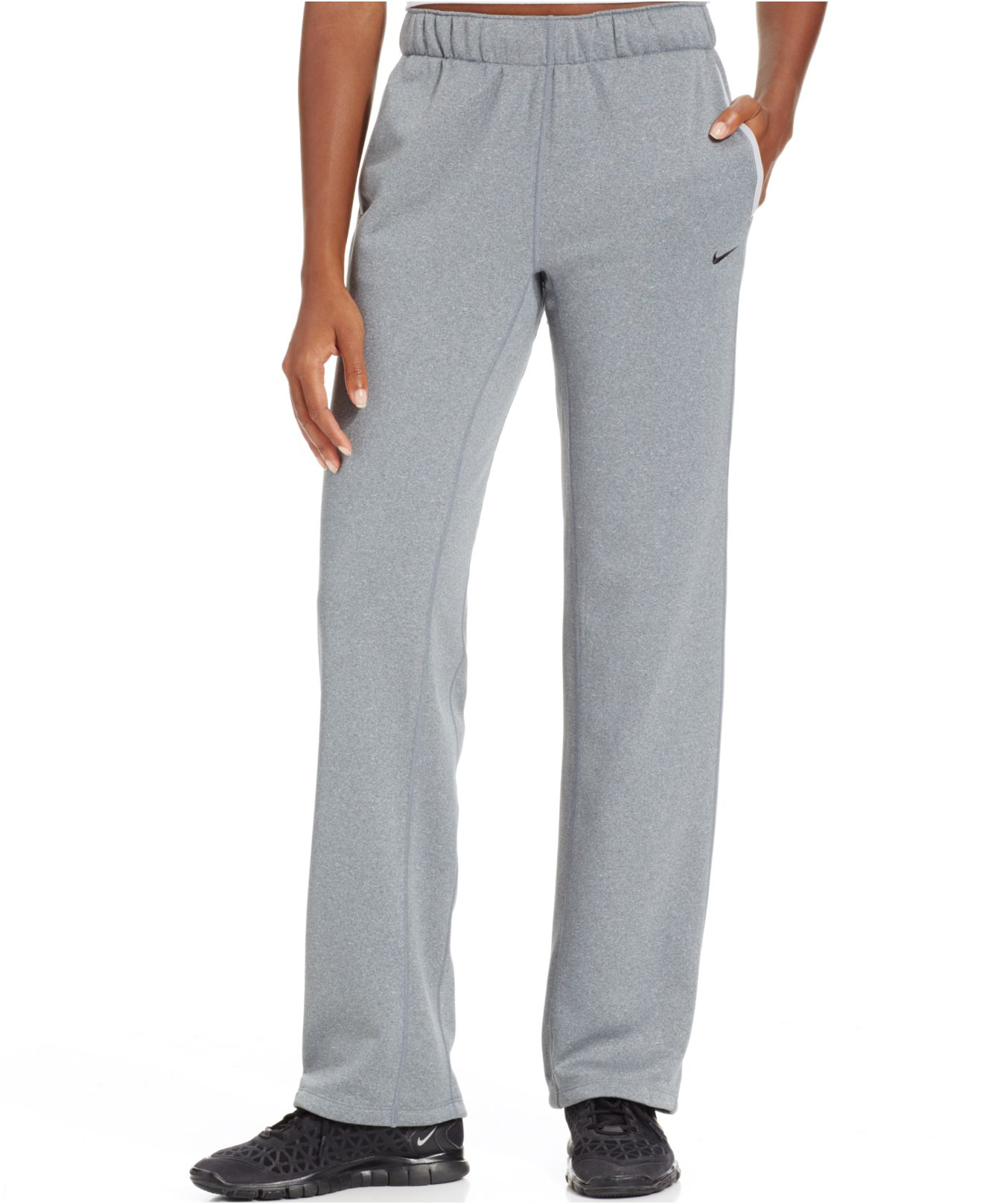 1b03a9d4272d Nike all time thermafit jogger pants in gray lyst jpg 1320x1616 Nike therma  fit jogger