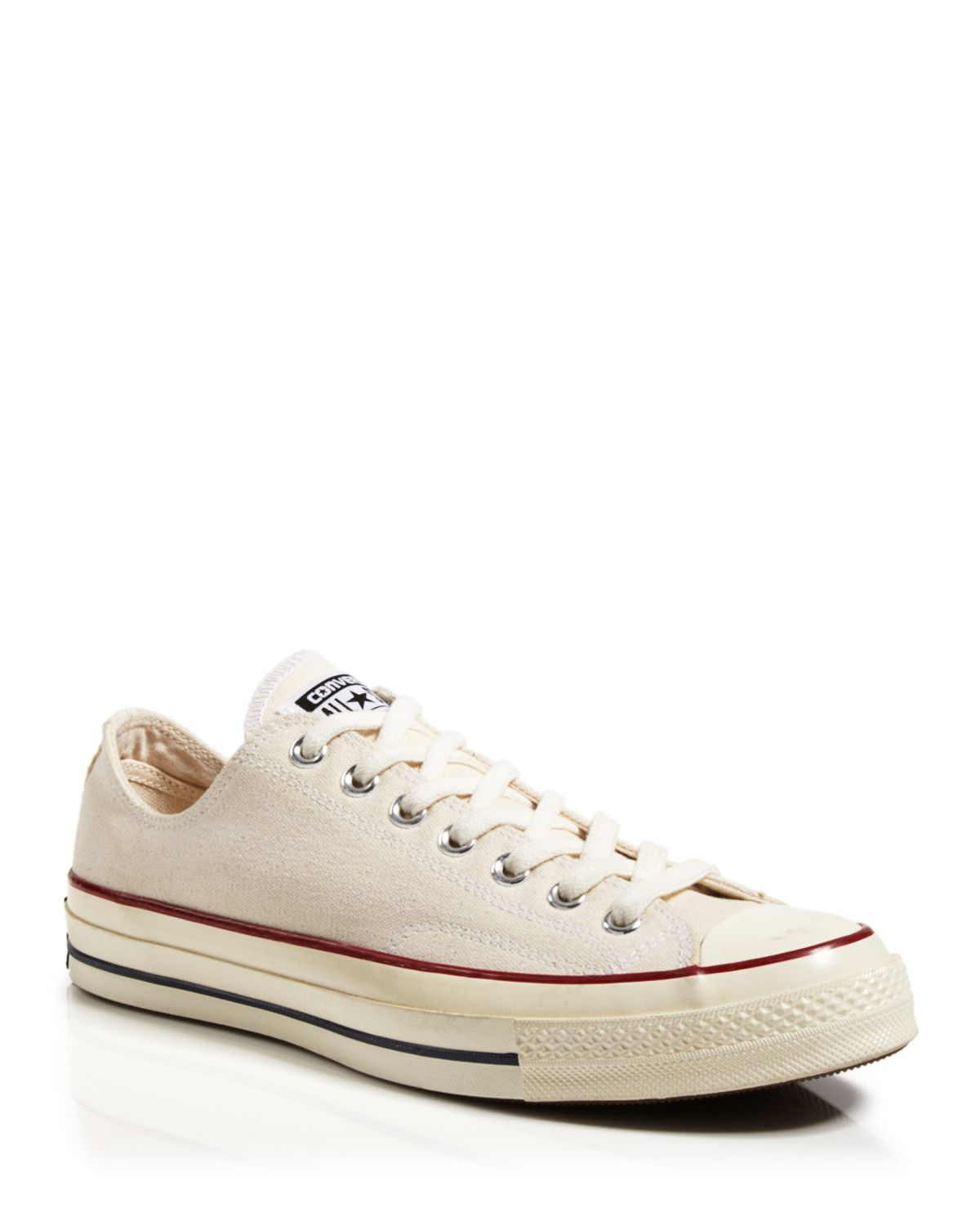 converse all 70 low top sneakers in white white