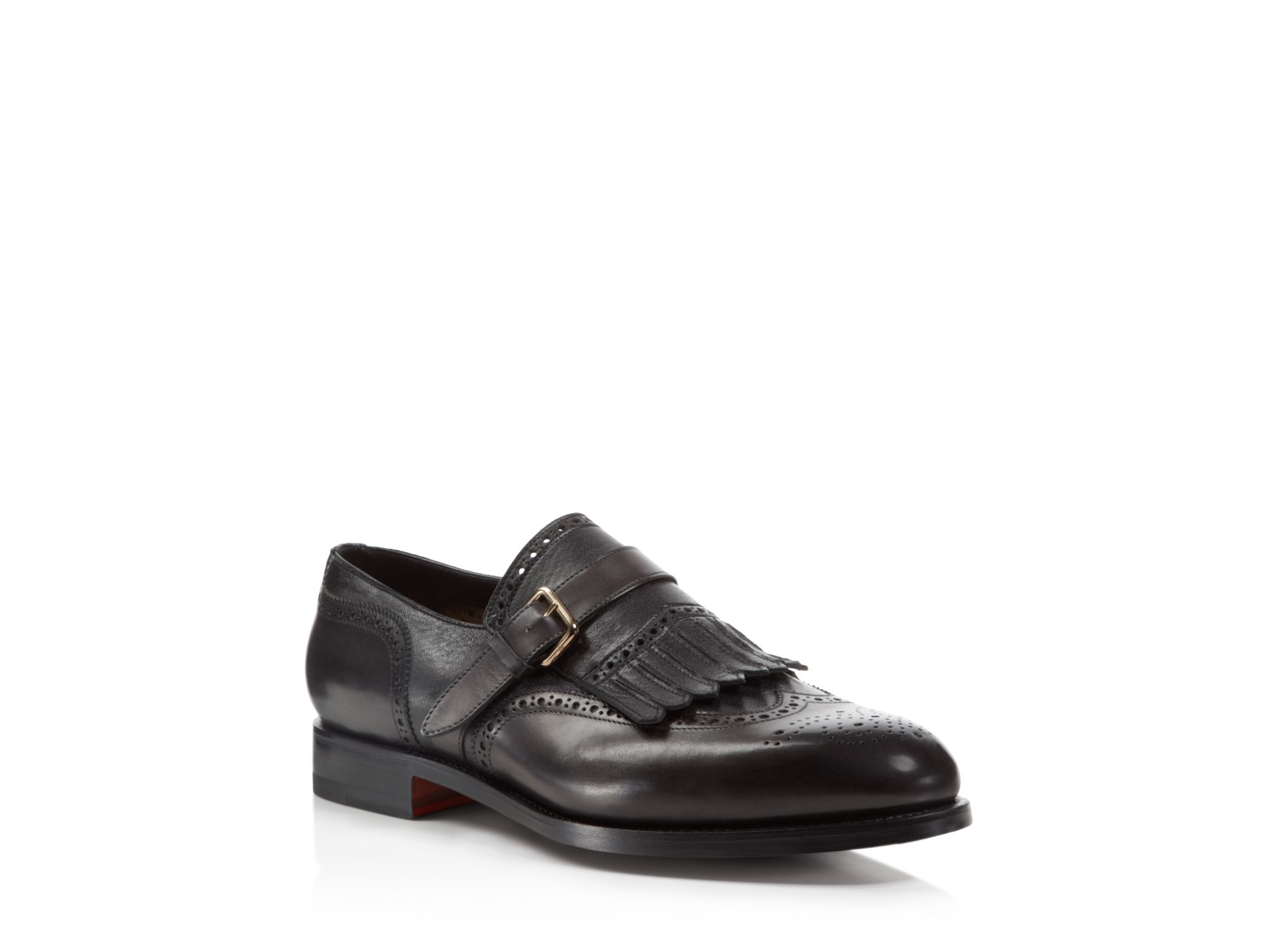 To boot Campbell Single Monk-strap Shoes in Brown for Men | Lyst